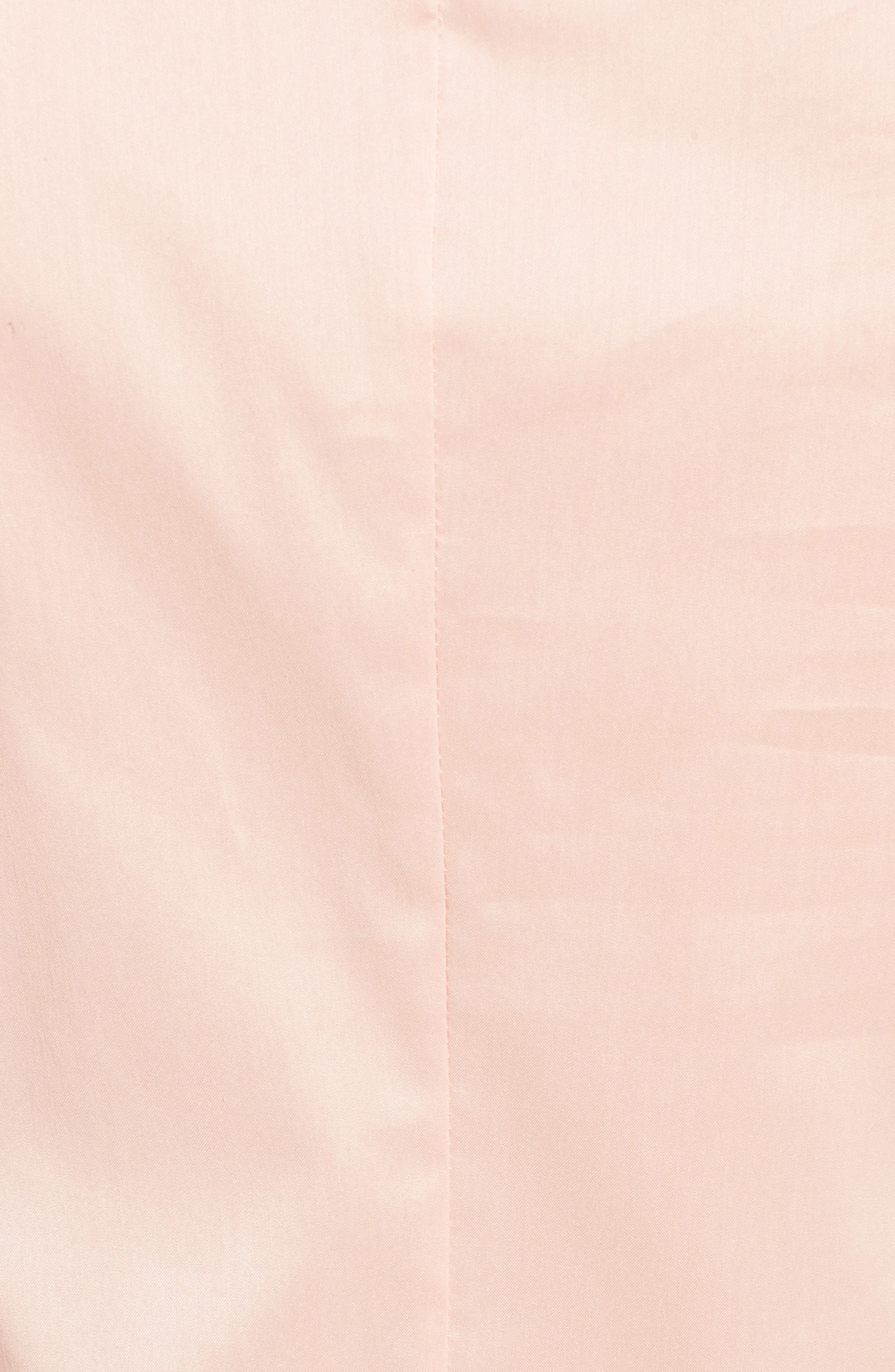 Bashiva Stretch Poplin Blouse,                             Alternate thumbnail 5, color,                             Blush
