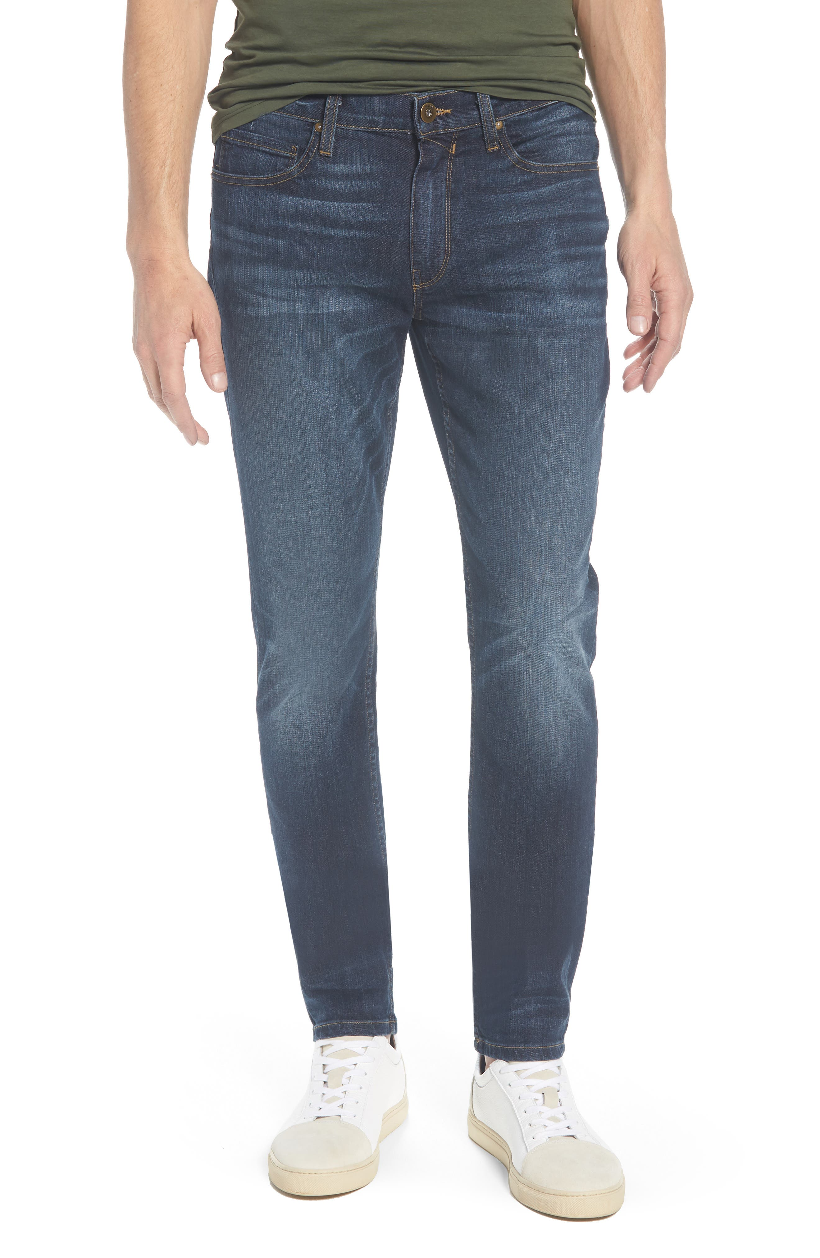 Transcend - Lennox Slim Fit Jeans,                         Main,                         color, Hestan