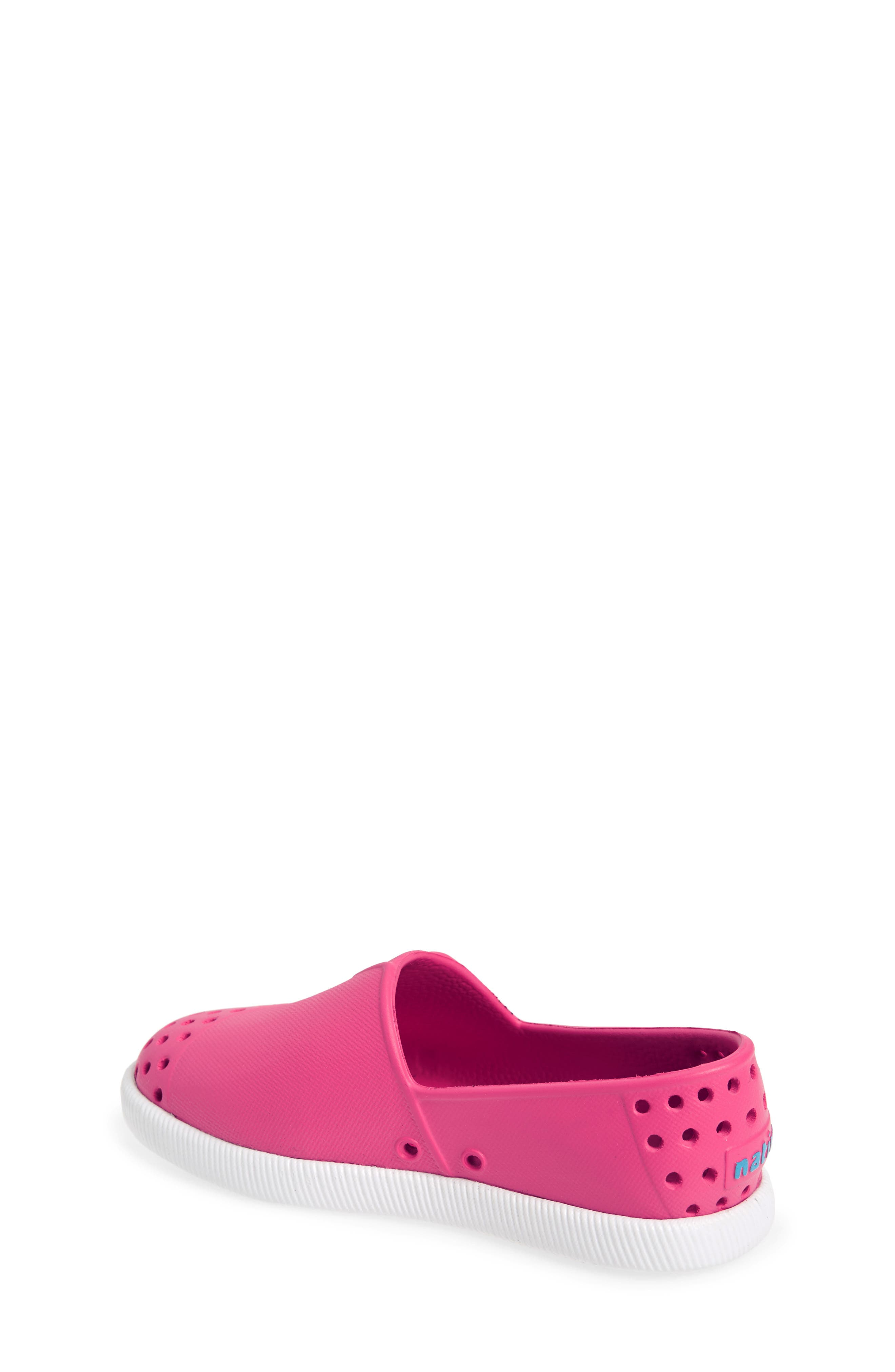 Verona Perforated Water Friendly Slip-On,                             Alternate thumbnail 2, color,                             Hollywood Pink/ Shell White