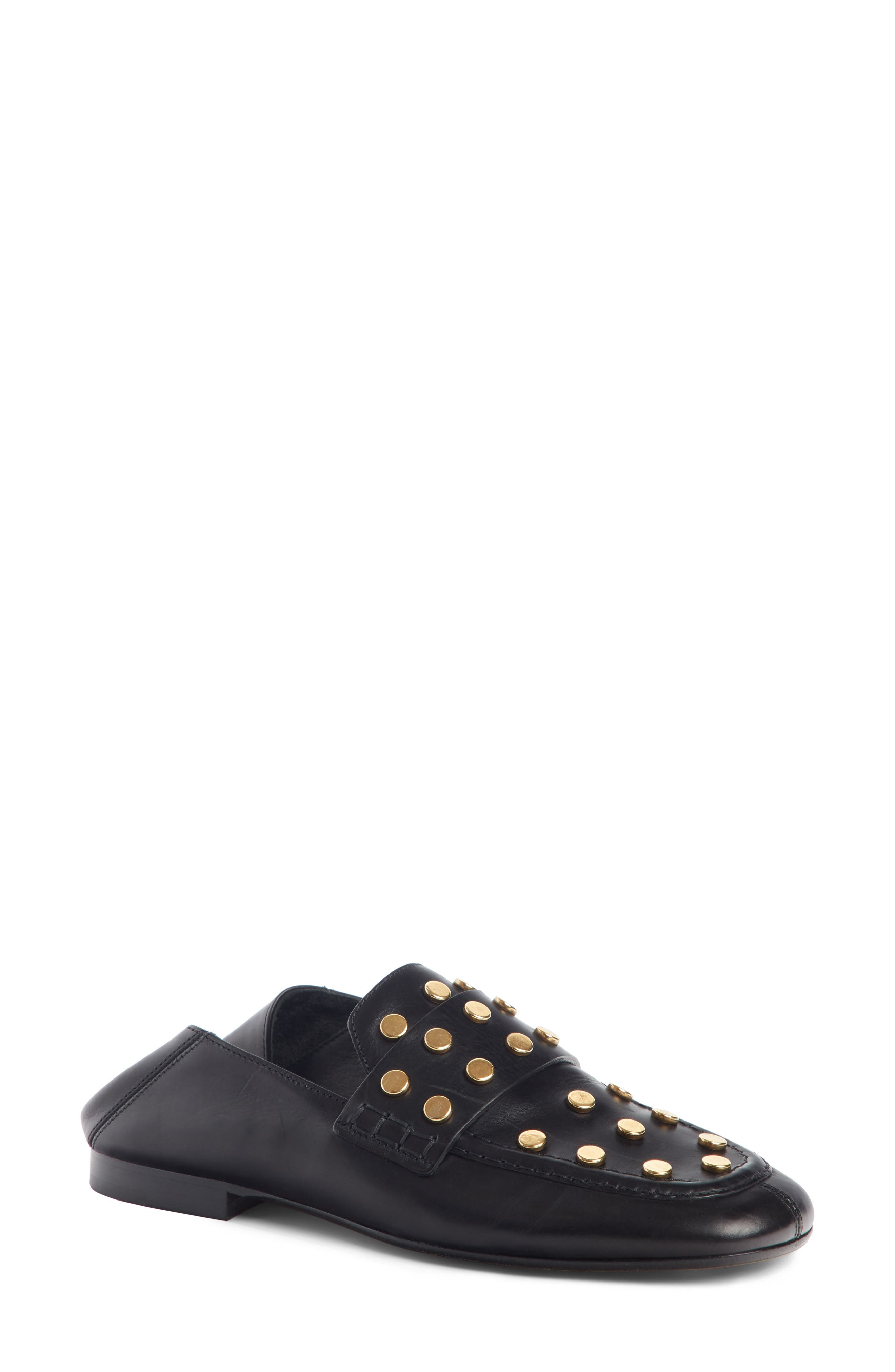 Isabel Marant Feenie Studded Convertible Loafer (Women)