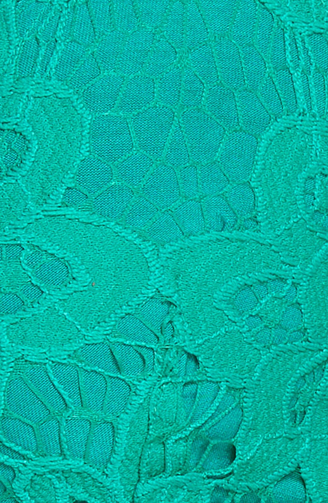 Intimately FP Adella Longline Bralette,                             Alternate thumbnail 6, color,                             Green