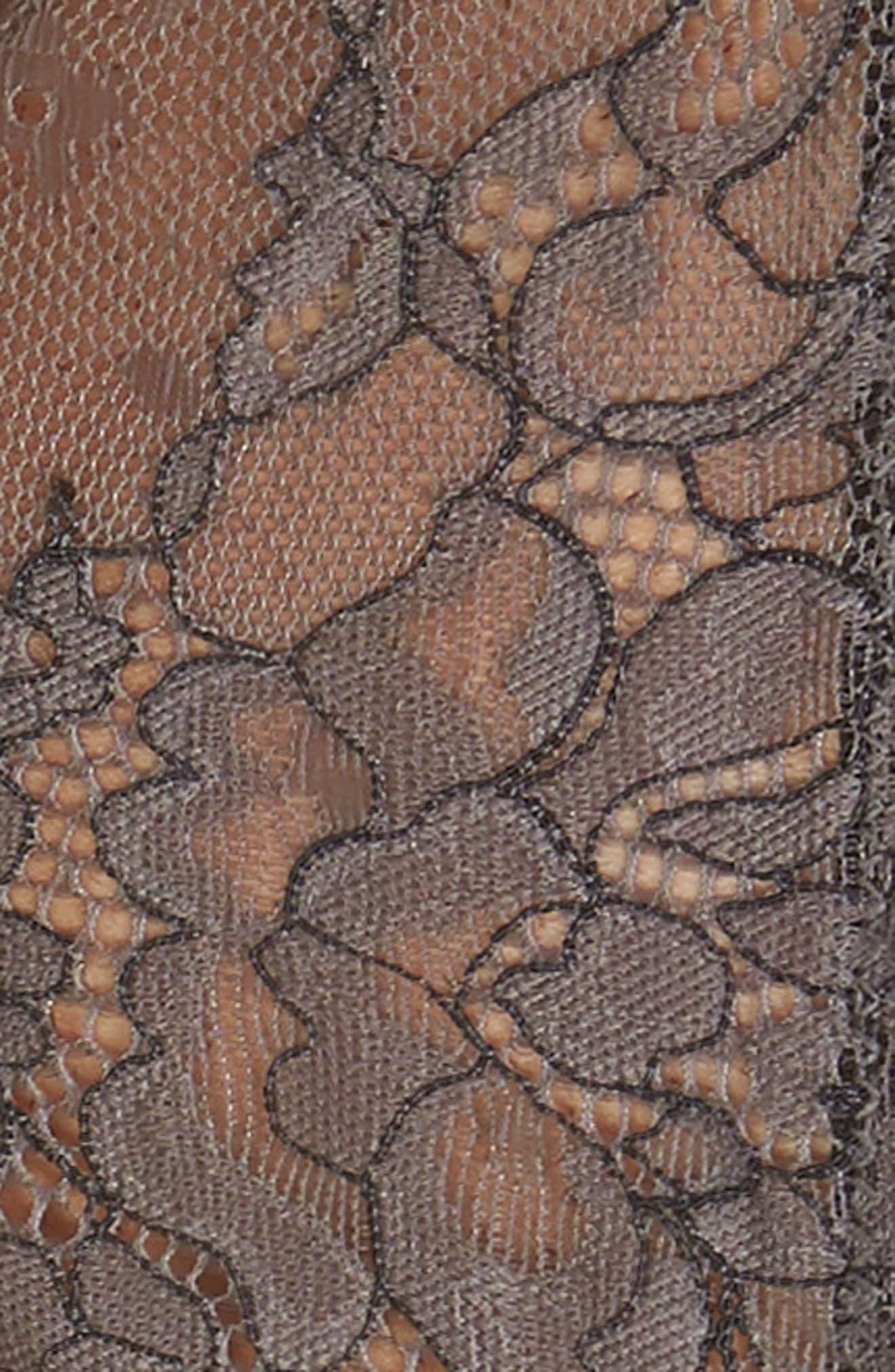 Thistle & Spire Constellation Lace Bikini,                             Alternate thumbnail 8, color,                             Steel