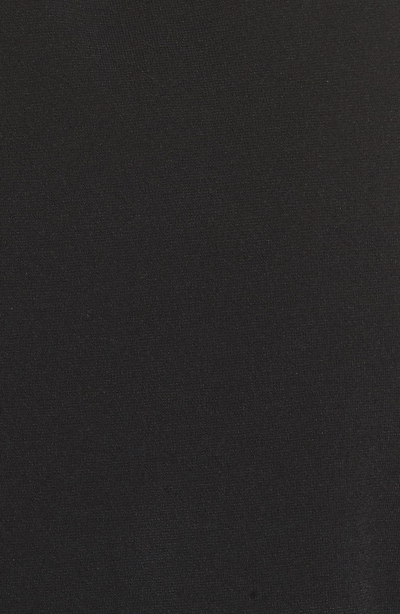 Diane von Furstenberg Wrap Sweater Dress,                             Alternate thumbnail 5, color,                             Laguna Multi