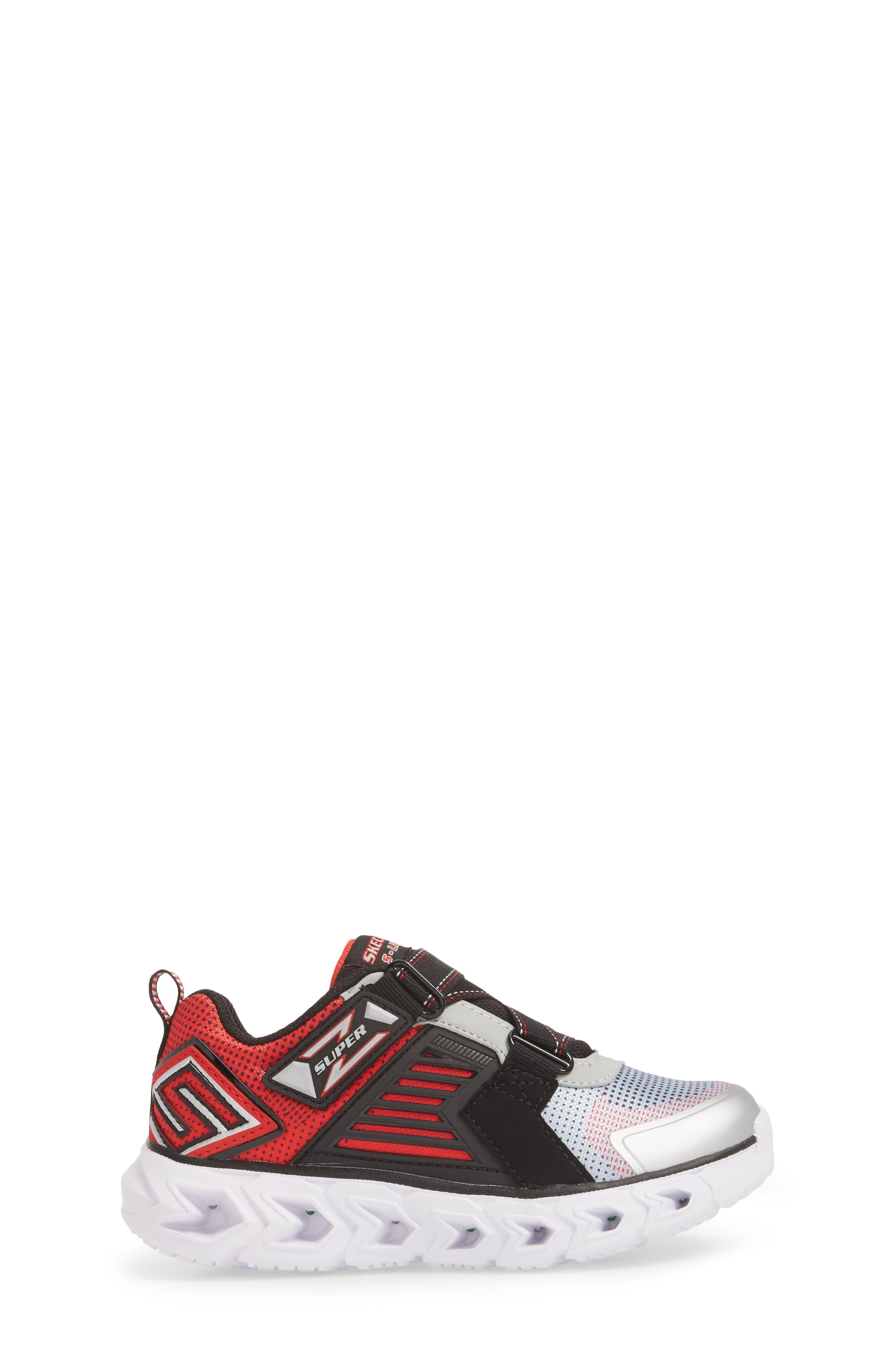 Hypno-Flash 2.0 Rapid Quake Sneakers,                             Alternate thumbnail 3, color,                             Silver/ Black
