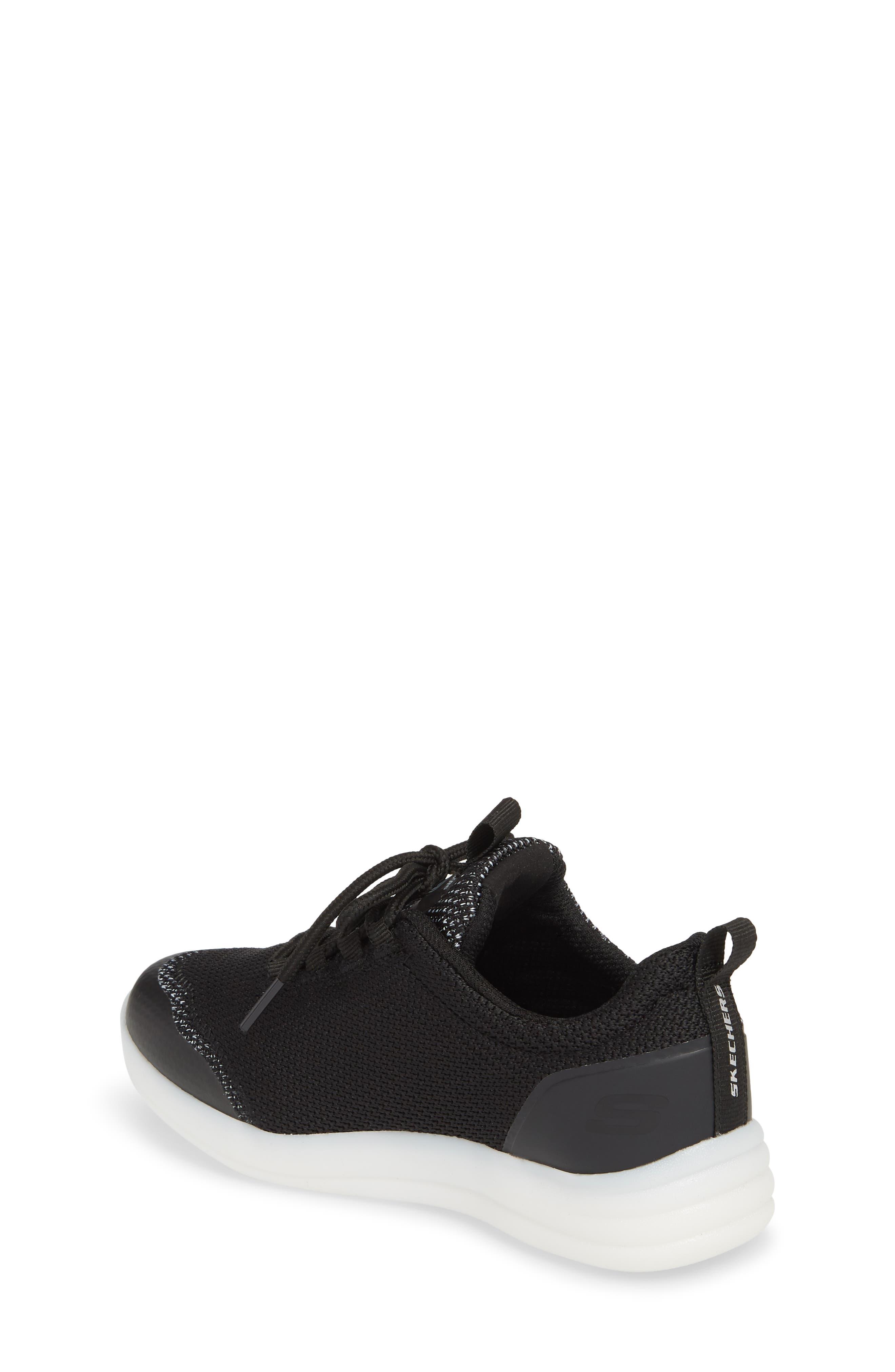 Energy Lights Street Sneaker,                             Alternate thumbnail 2, color,                             Black