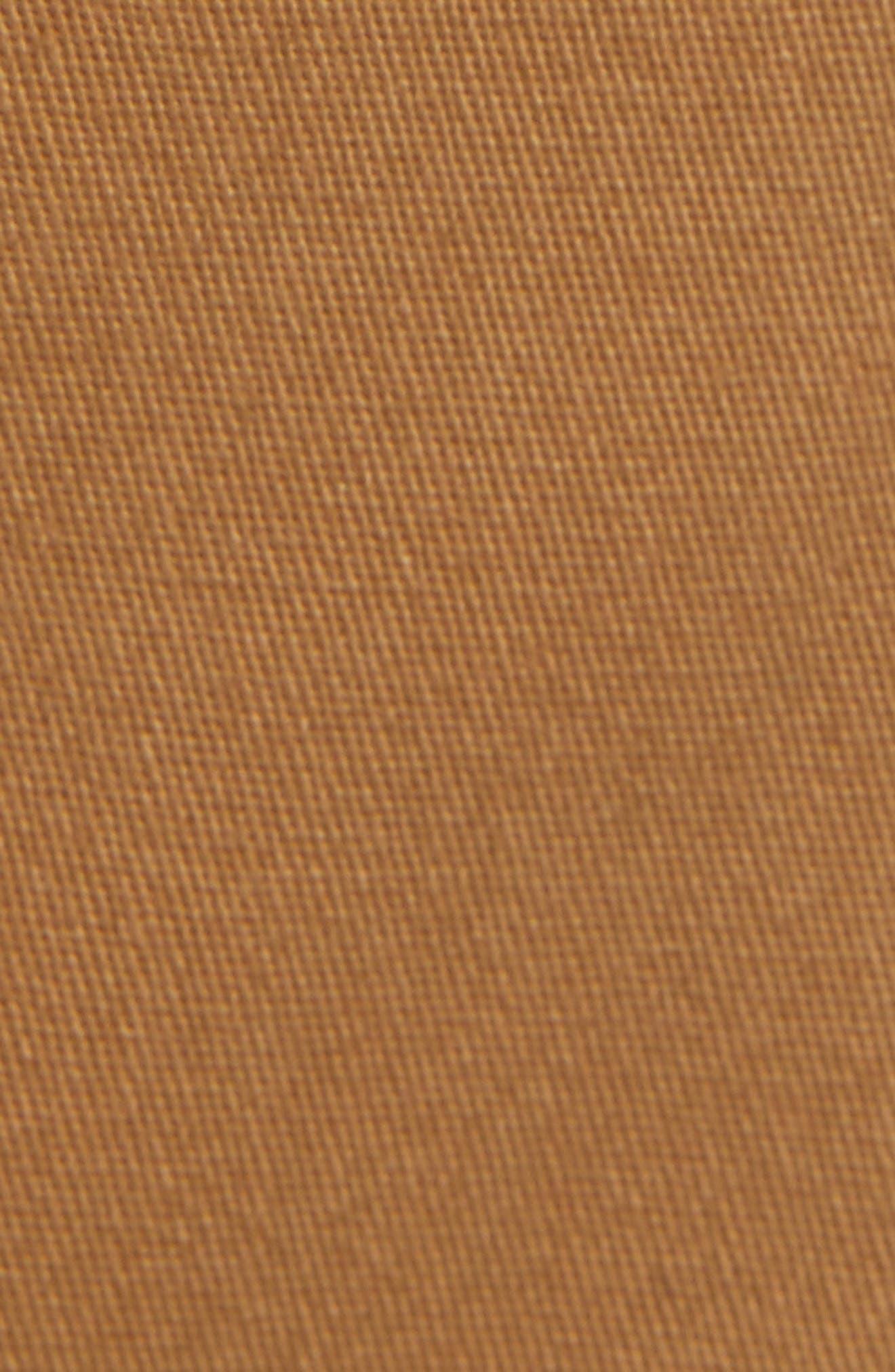 Crossroad Slim Fit Pants,                             Alternate thumbnail 5, color,                             Khaki