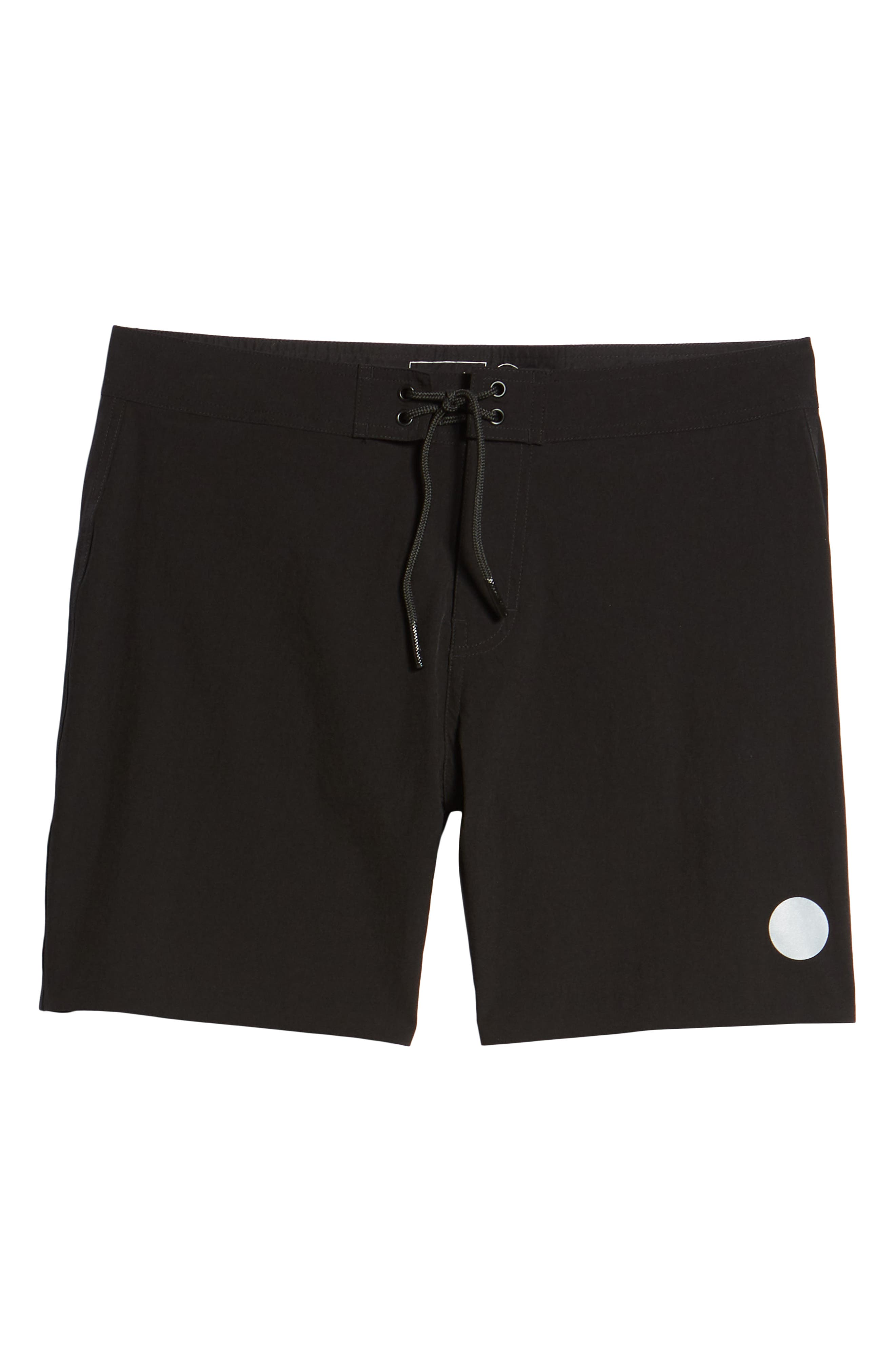 Danny Board Shorts,                             Alternate thumbnail 6, color,                             Black