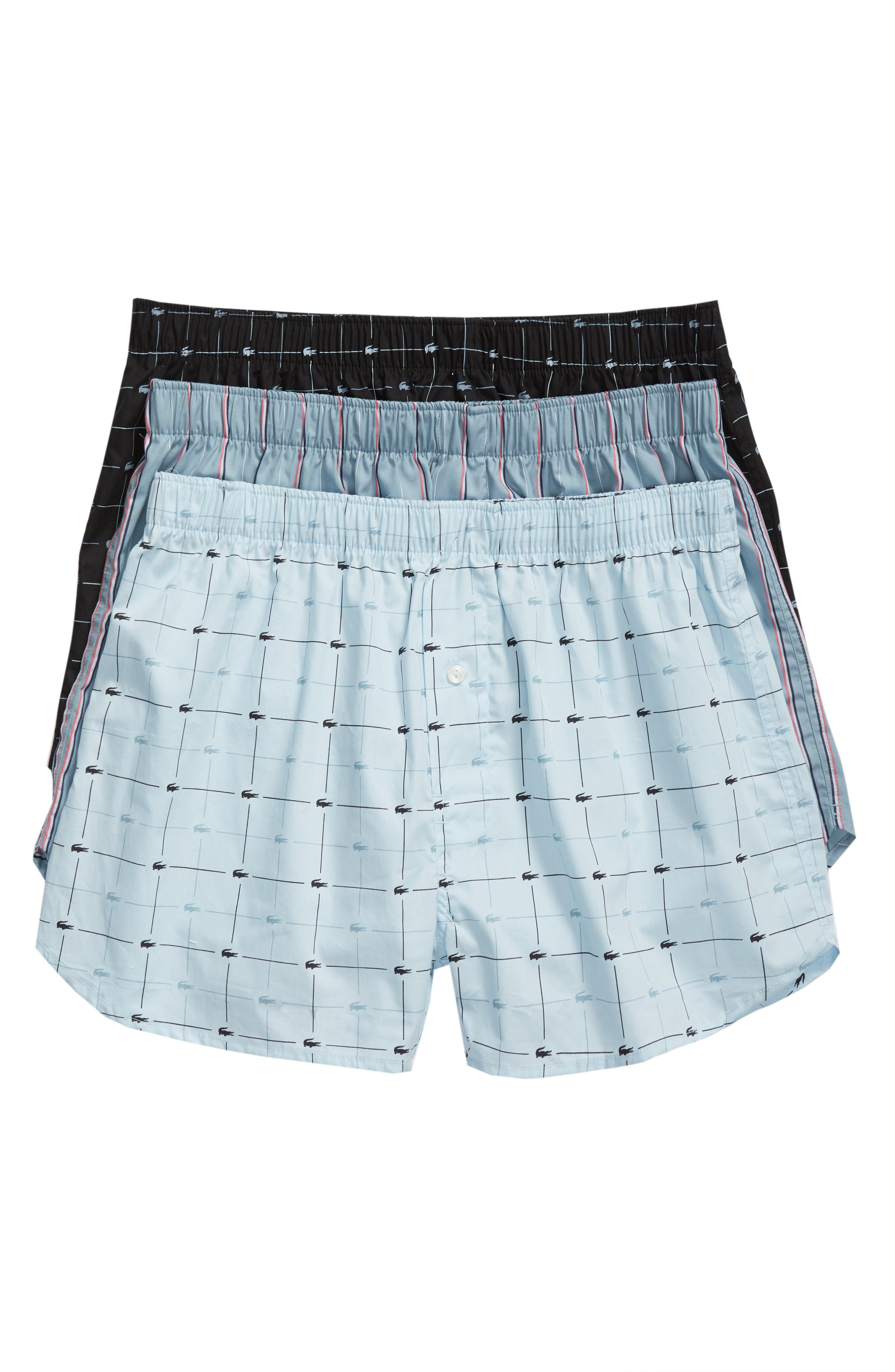 Lacoste 3-Pack Cotton Boxers