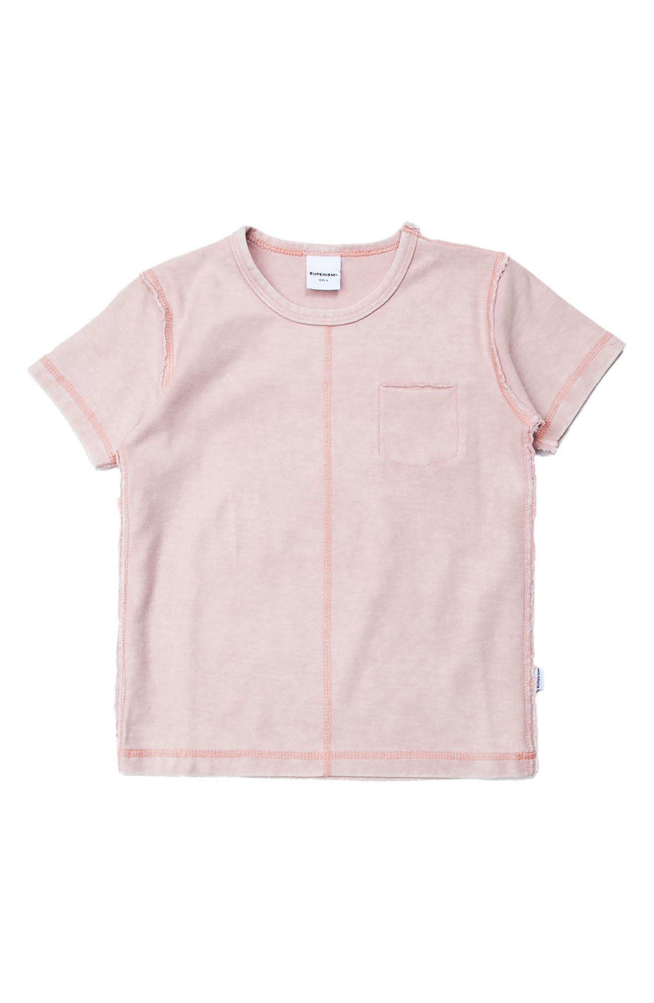 Emery T-Shirt,                         Main,                         color, Pink
