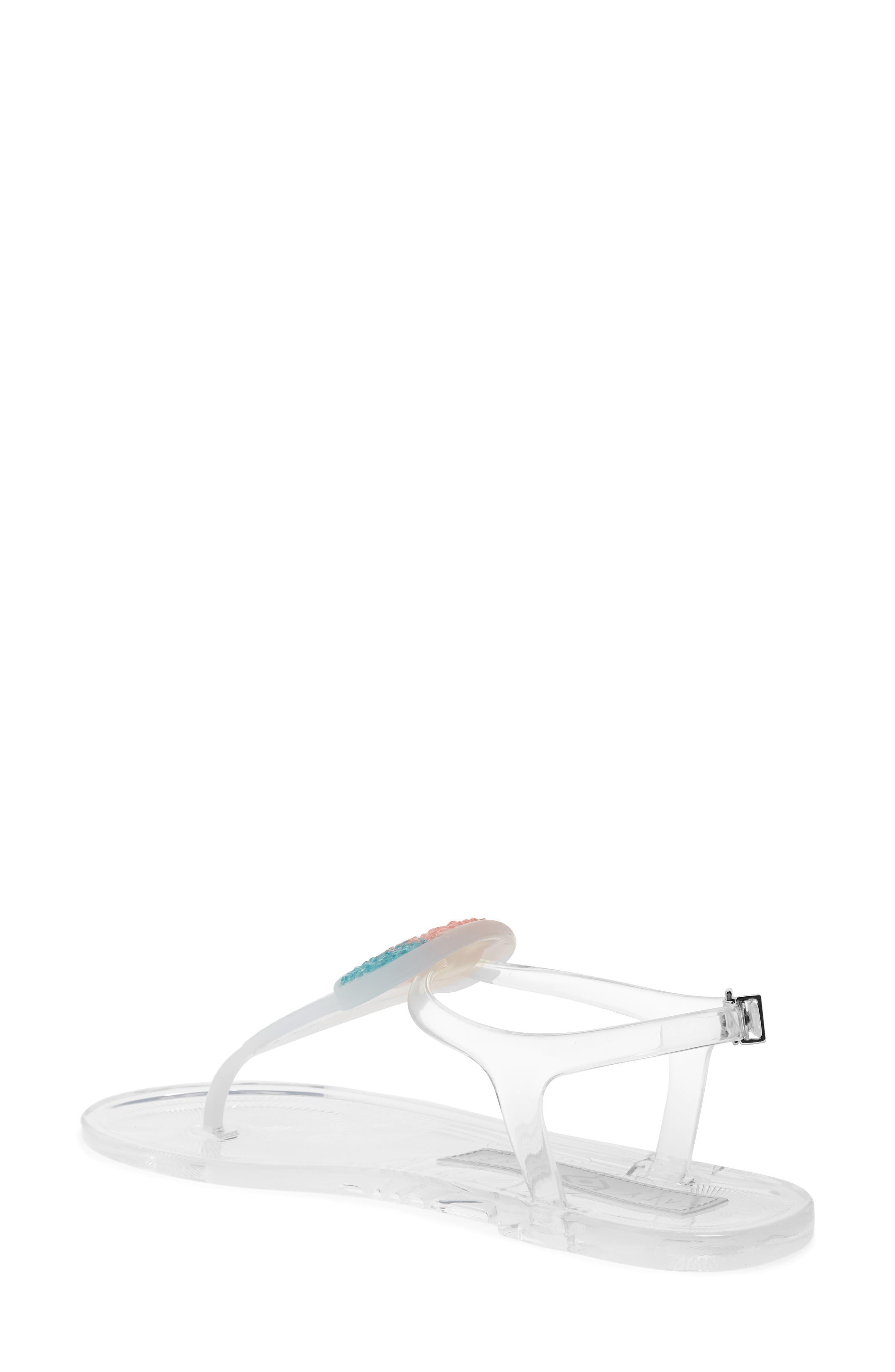 Geli Sandal,                             Alternate thumbnail 2, color,                             Clear