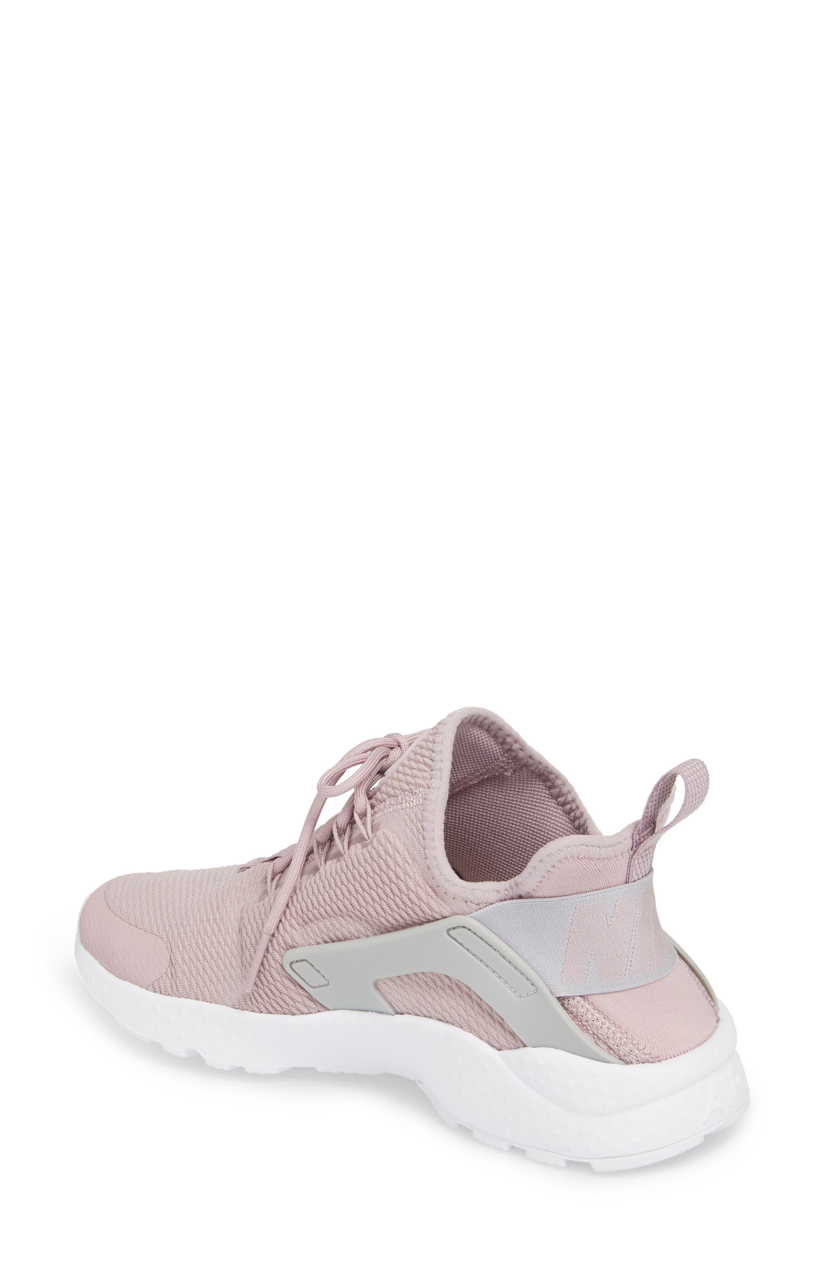Air Huarache Sneaker,                             Alternate thumbnail 2, color,                             Elemental Rose/ Wolf Grey
