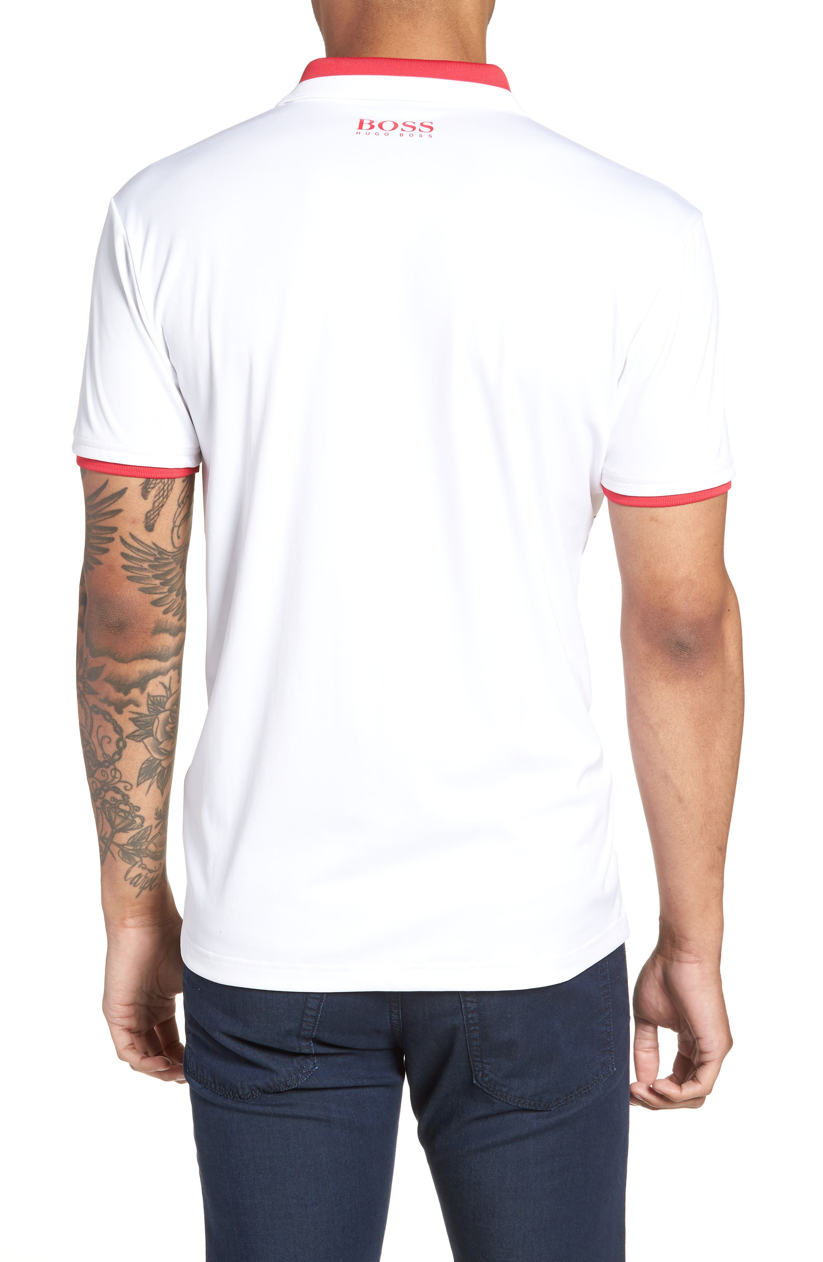 Paddy Pro 2 Regular Fit Polo,                             Alternate thumbnail 2, color,                             White