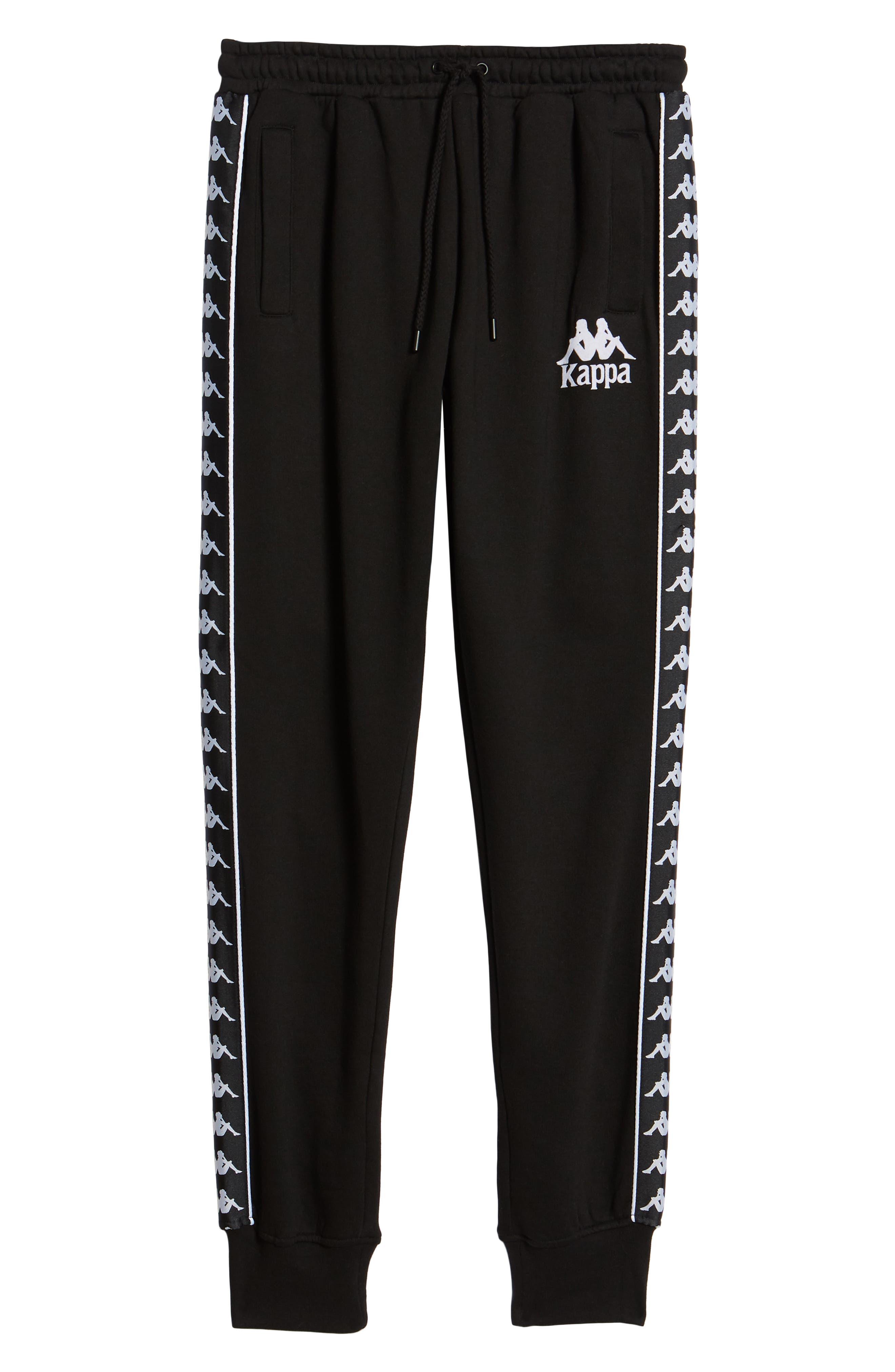 Banda Fleece Pants,                             Alternate thumbnail 6, color,                             Black