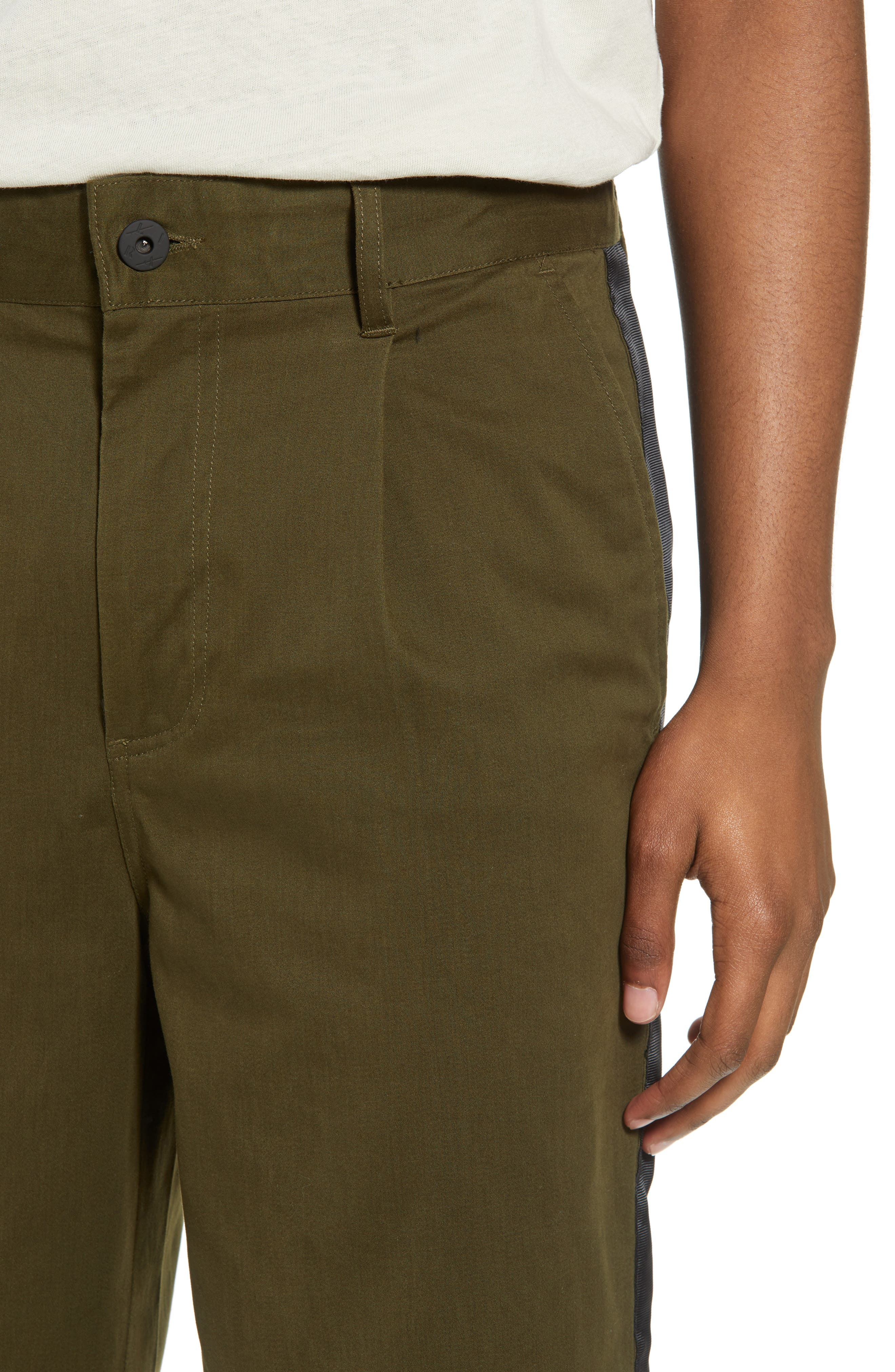 Lincoln Relaxed Fit Pants,                             Alternate thumbnail 4, color,                             Olive