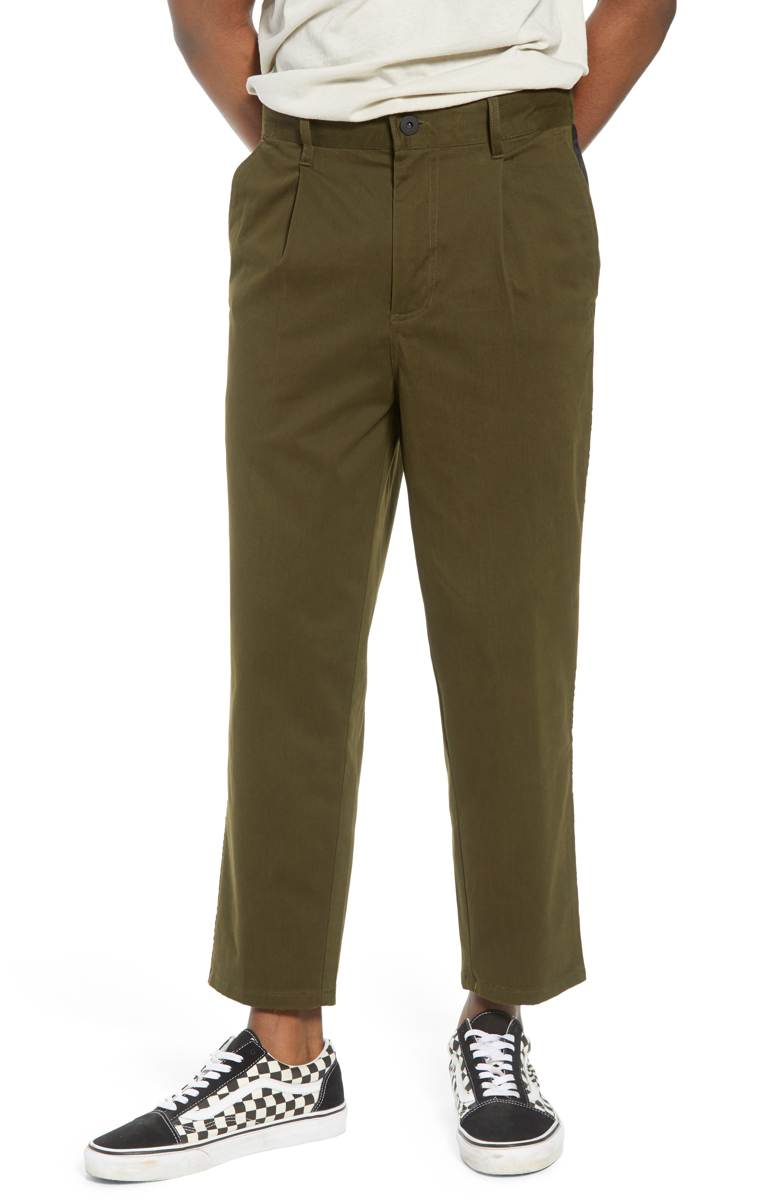 Lincoln Relaxed Fit Pants,                         Main,                         color, Olive