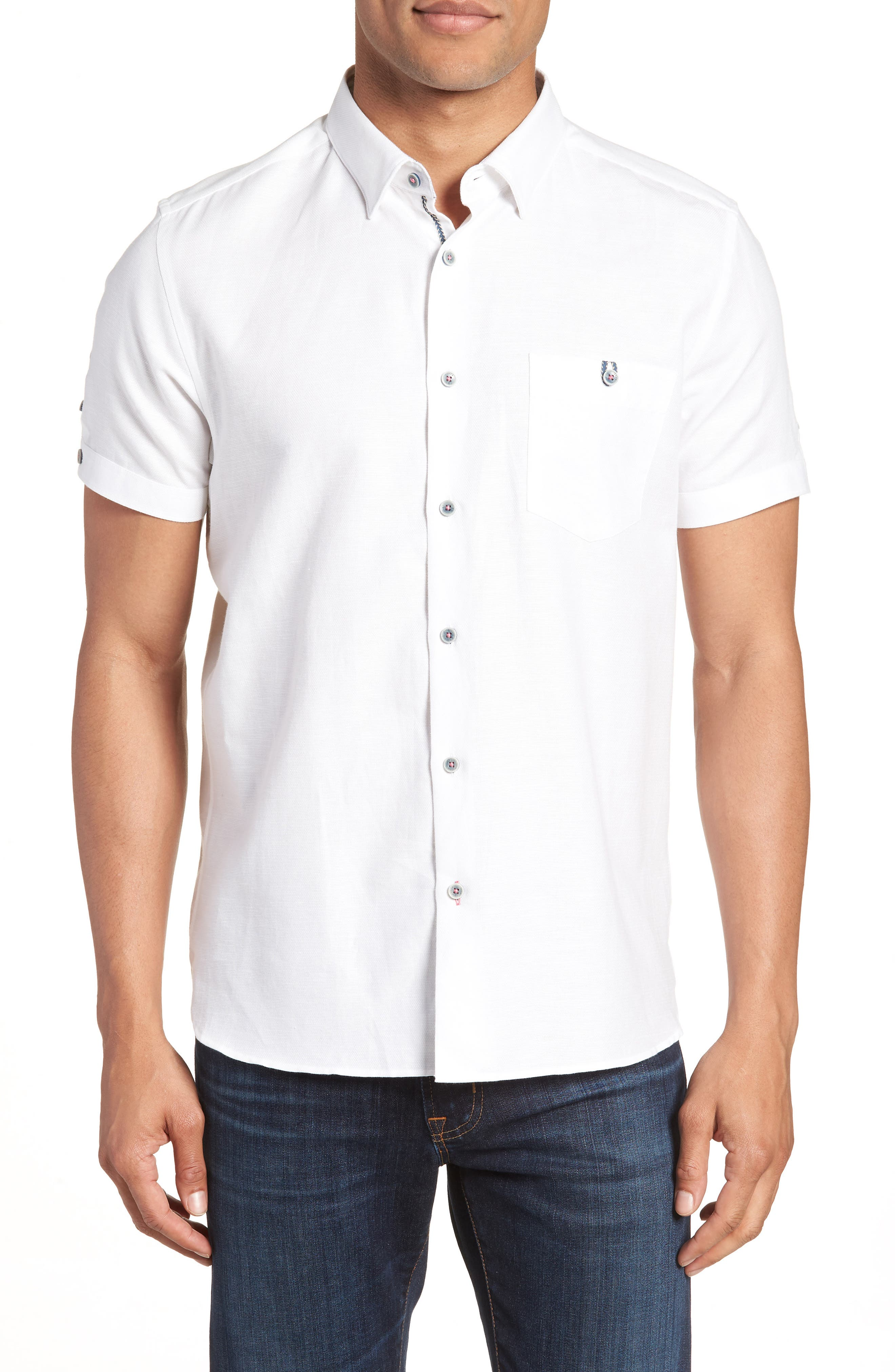 Ted Baker London Slim Fit Sport Shirt
