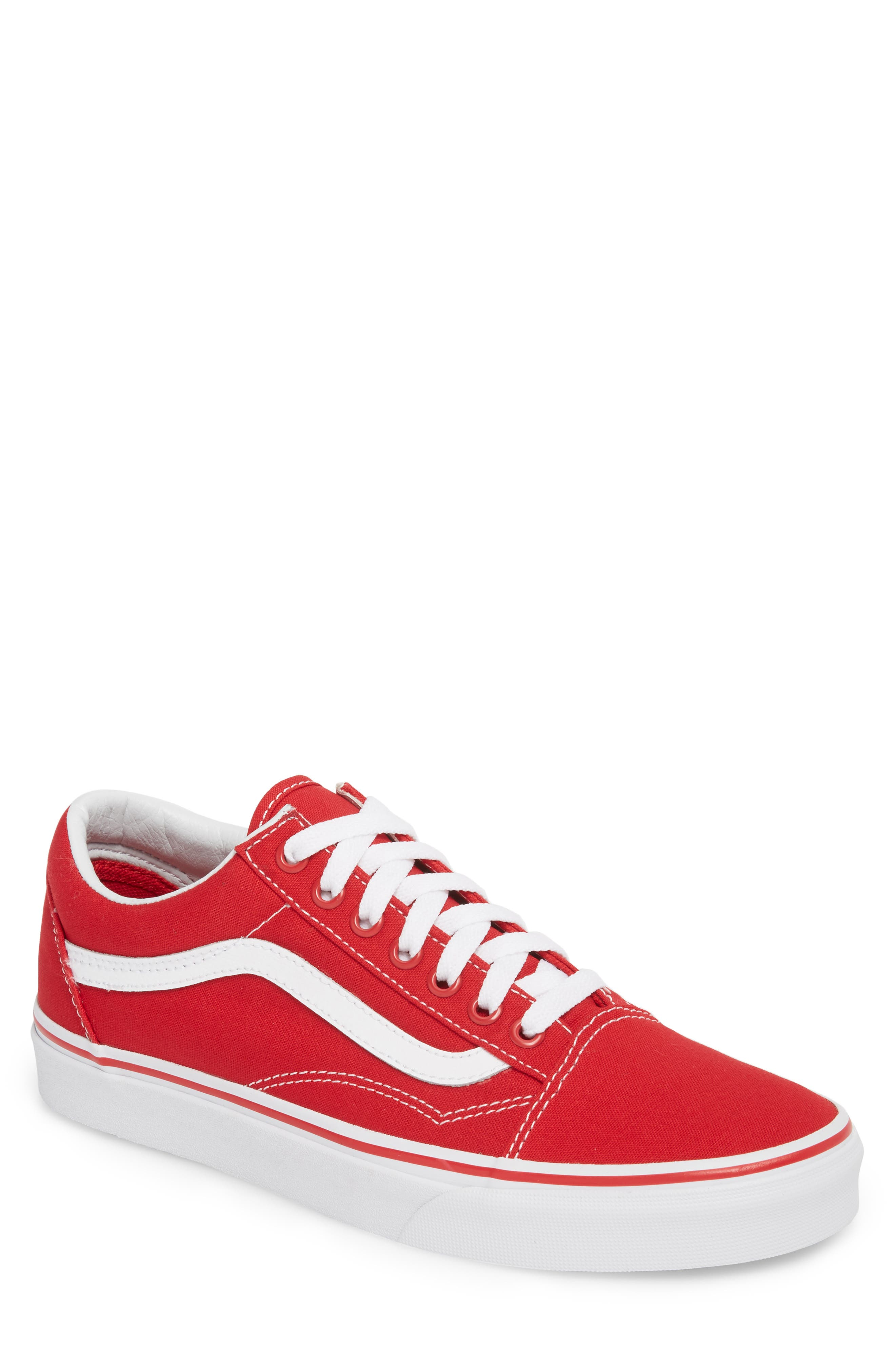 Old Skool Low Top Sneaker,                             Main thumbnail 1, color,                             Formula One Canvas
