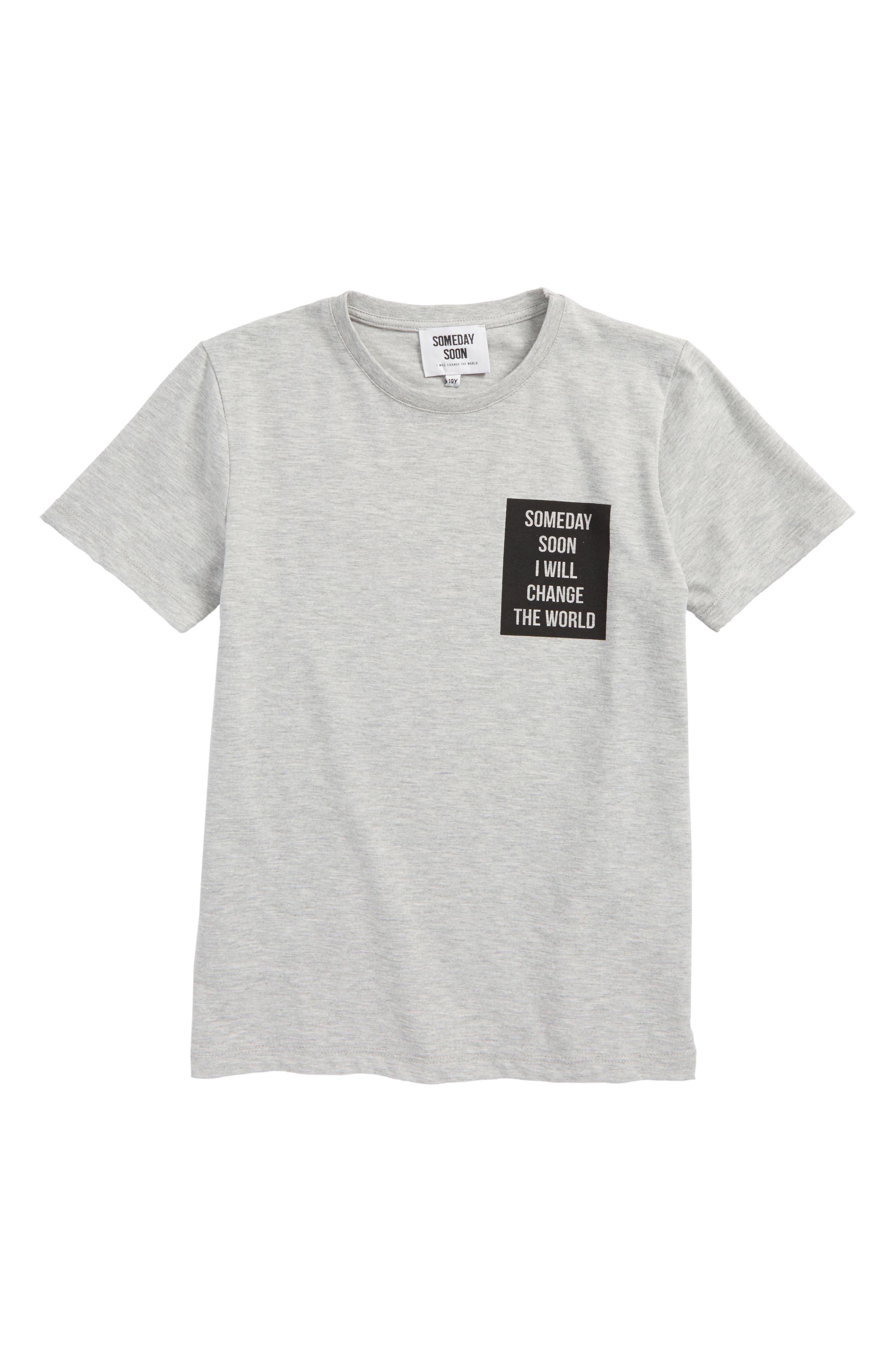 Vista Graphic T-Shirt,                         Main,                         color, Grey Melange