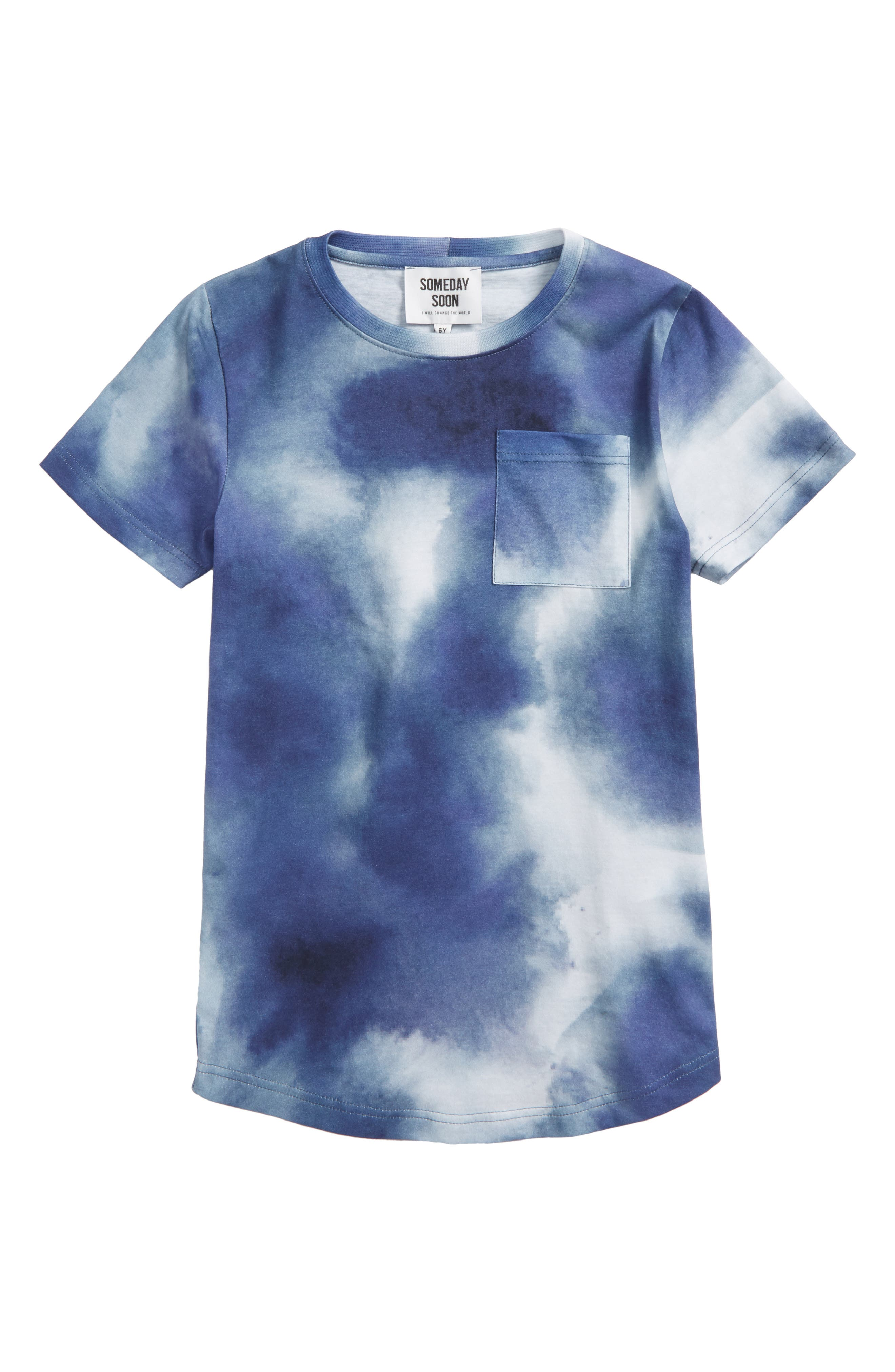 Ventura Organic Cotton T-Shirt,                         Main,                         color, Blue