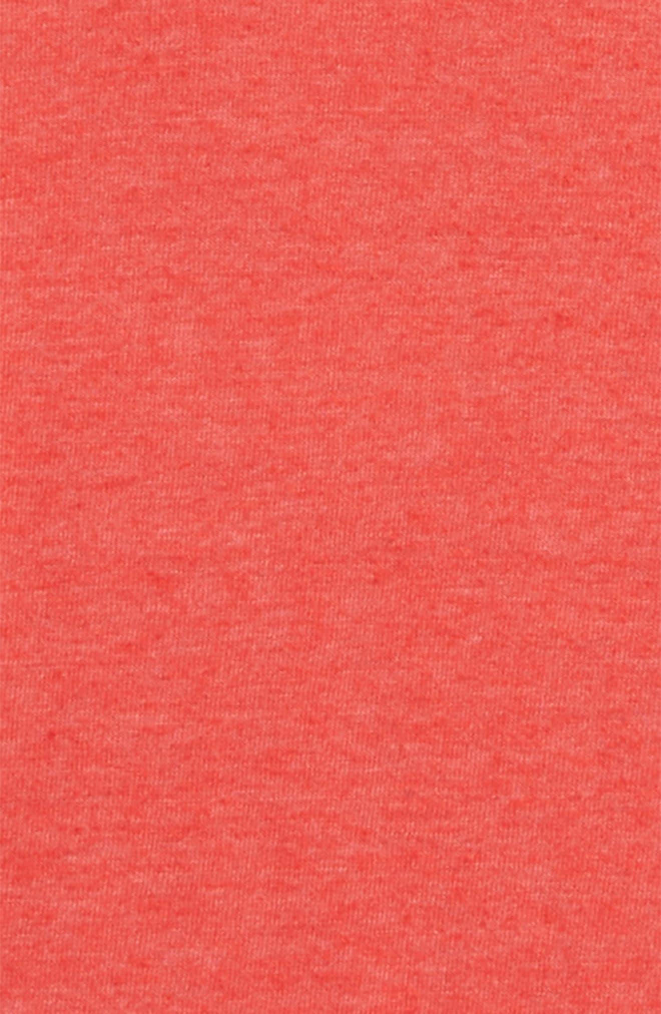 Basic T-Shirt,                             Alternate thumbnail 2, color,                             Red Ribbon