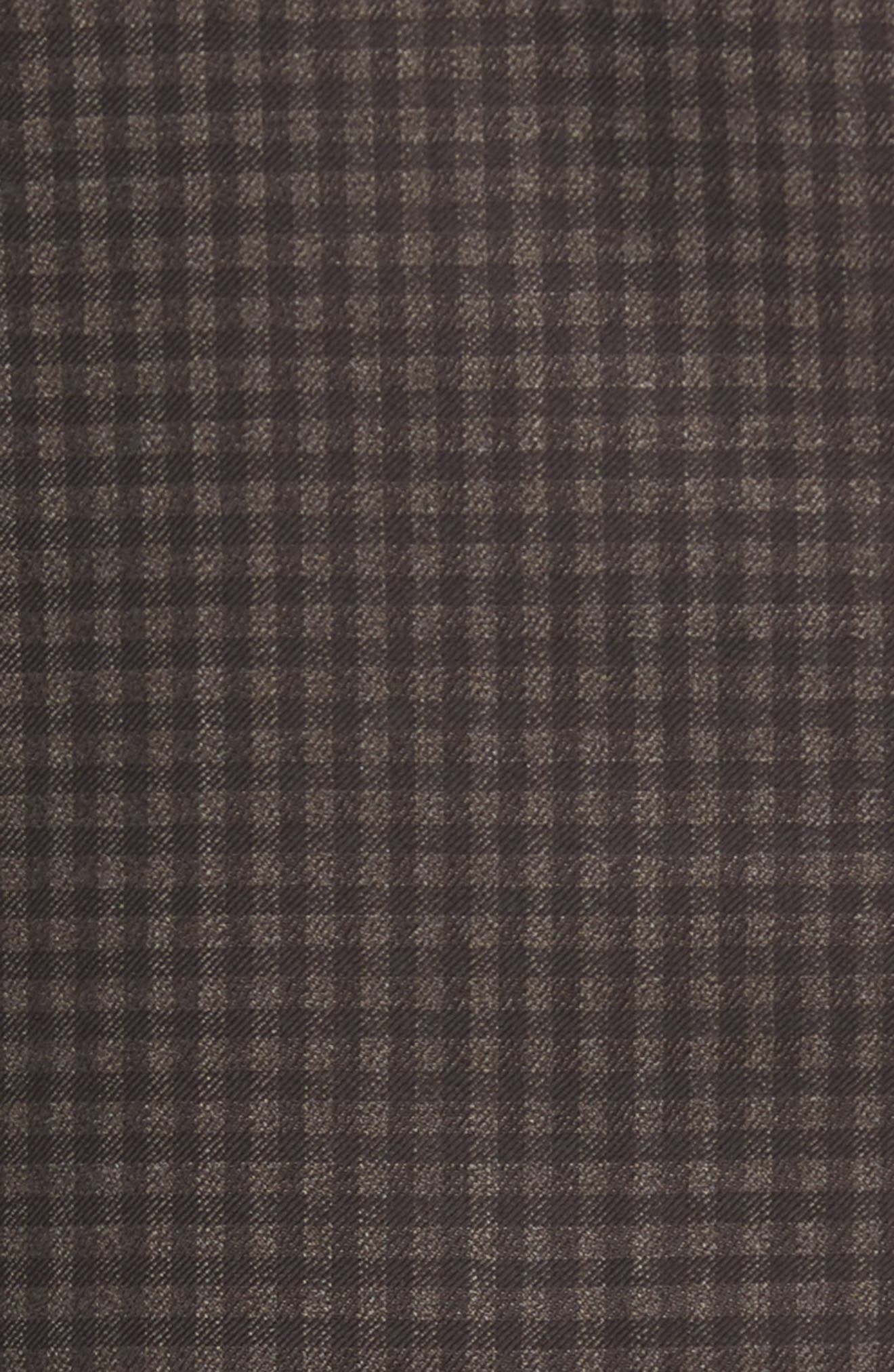 Traditional Fit Check Wool Sport Coat,                             Alternate thumbnail 4, color,                             Graphite
