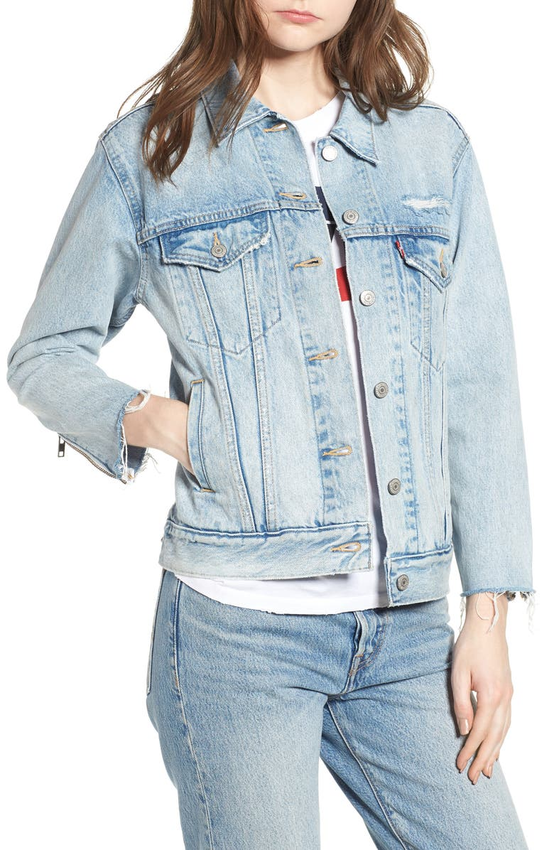 Ex-Boyfriend Denim Trucker Jacket