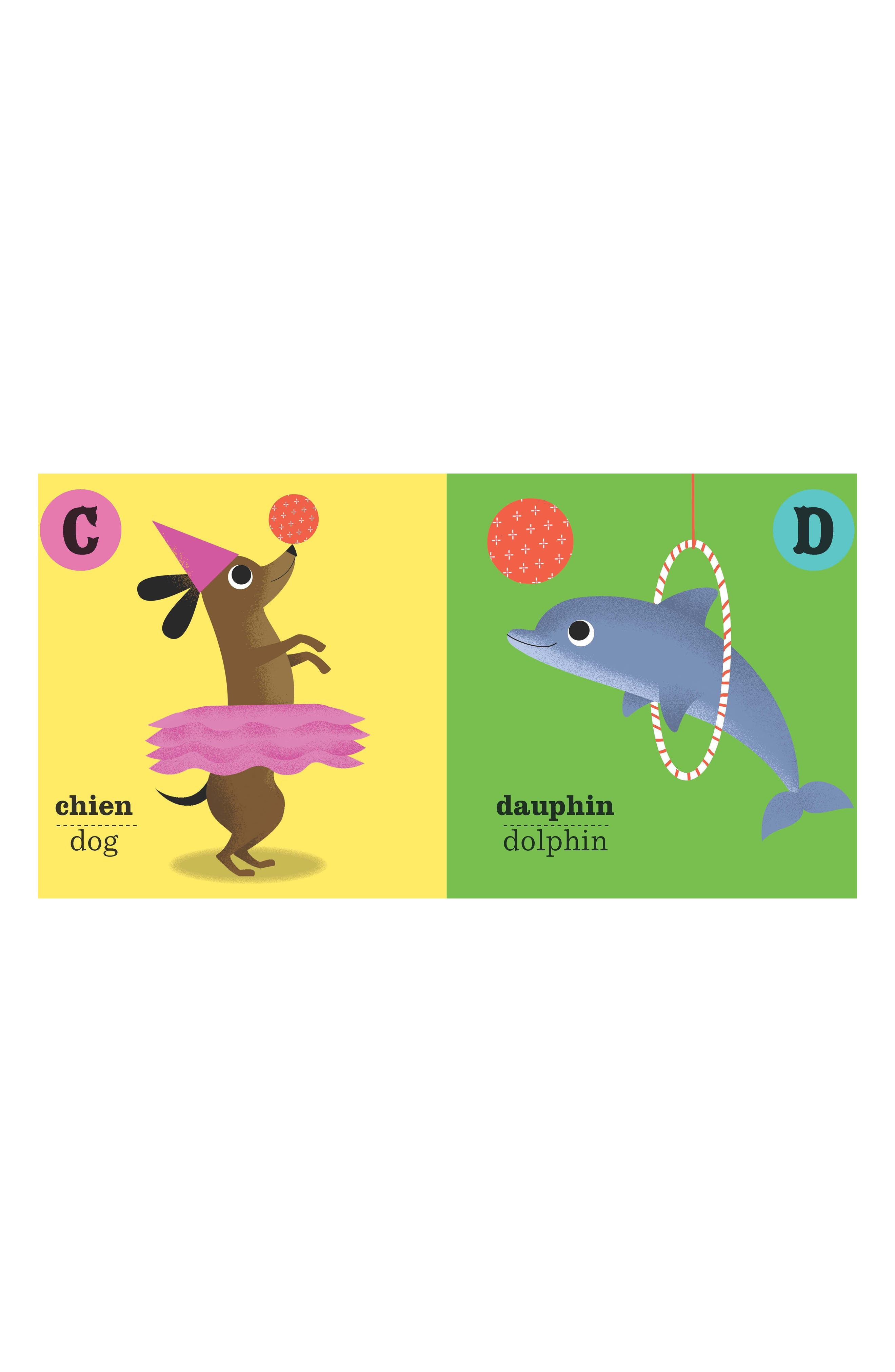 ABC French Book,                             Alternate thumbnail 2, color,                             Multi