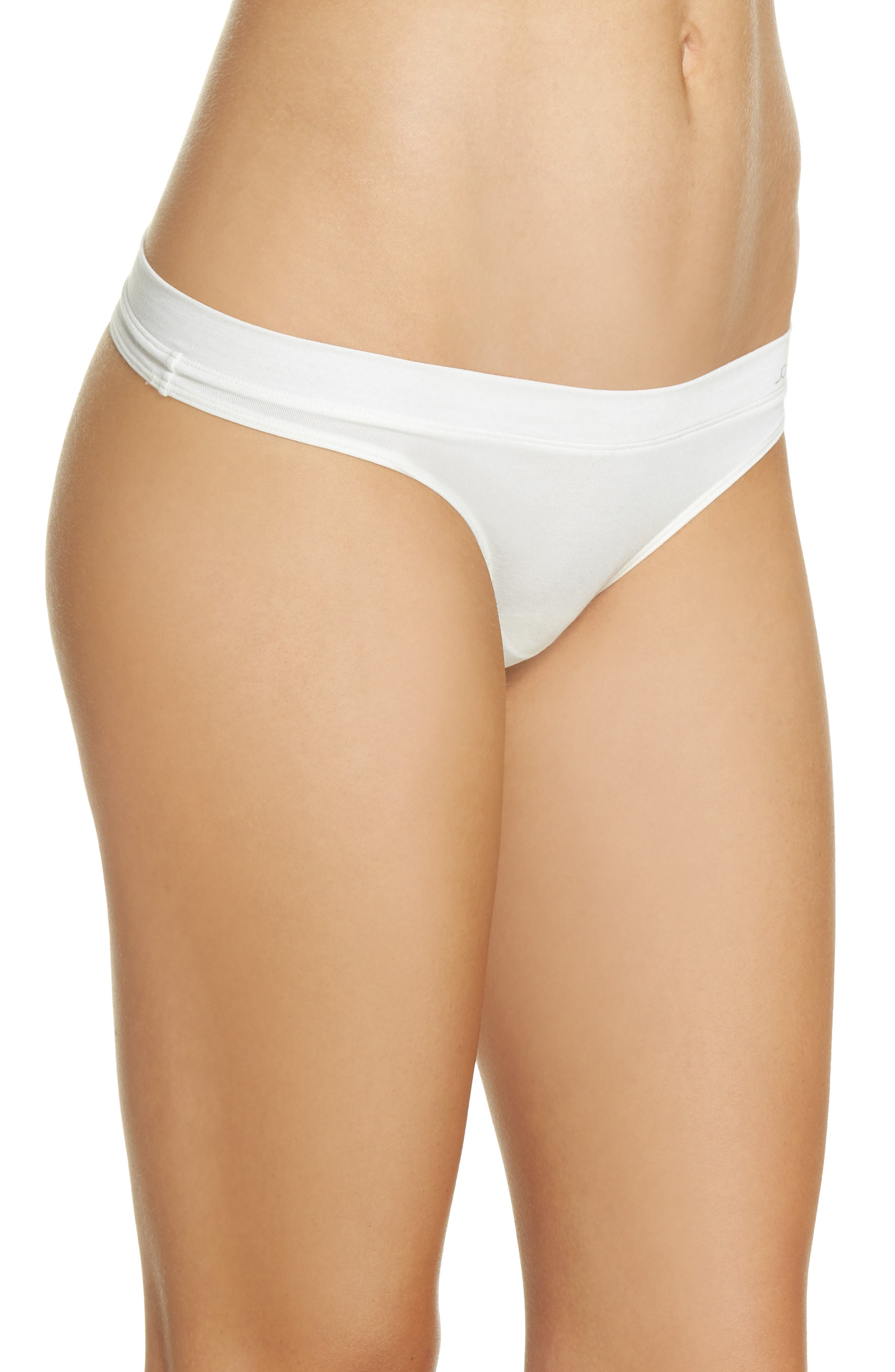 Thong,                             Alternate thumbnail 3, color,                             Ivory