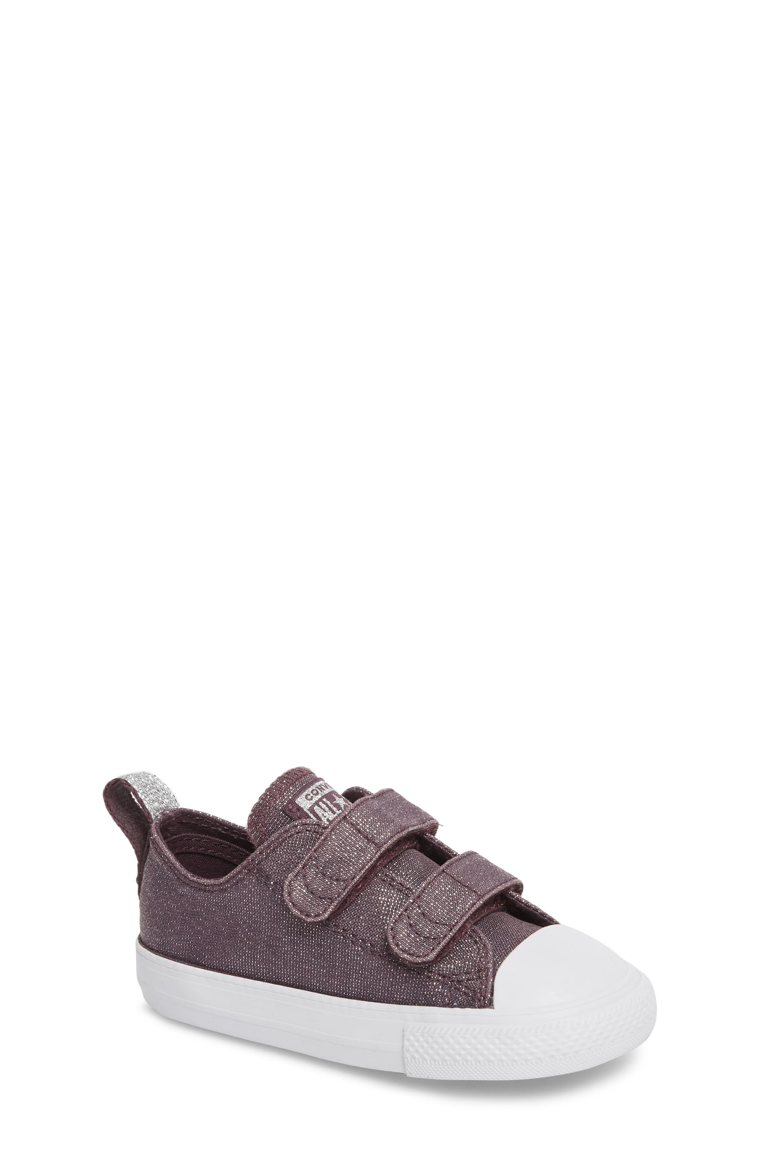 All Star<sup>®</sup> Shimmer 2V Sneaker,                         Main,                         color, Dusk Purple