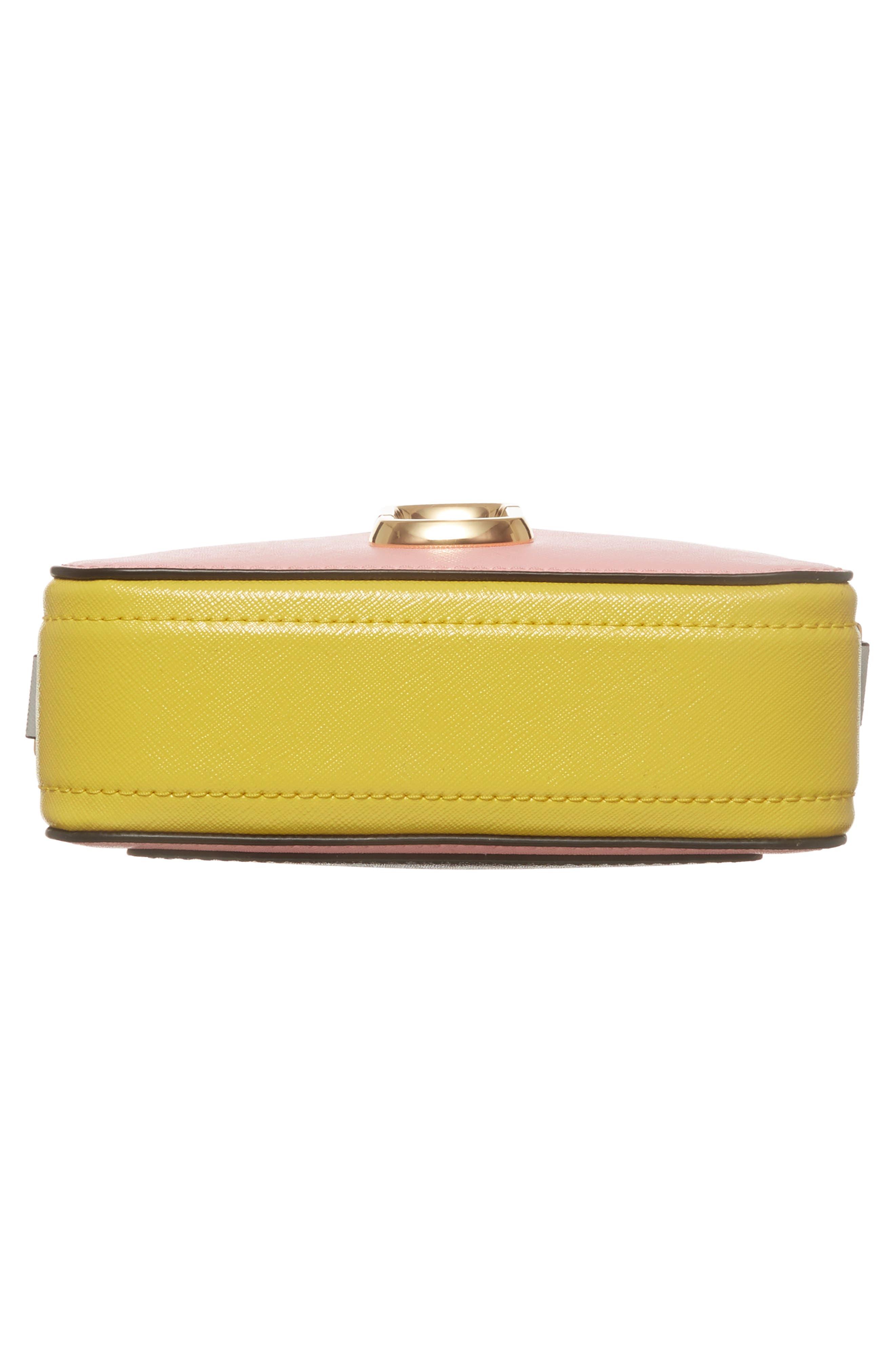 Snapshot Crossbody Bag,                             Alternate thumbnail 6, color,                             Baby Pink Multi