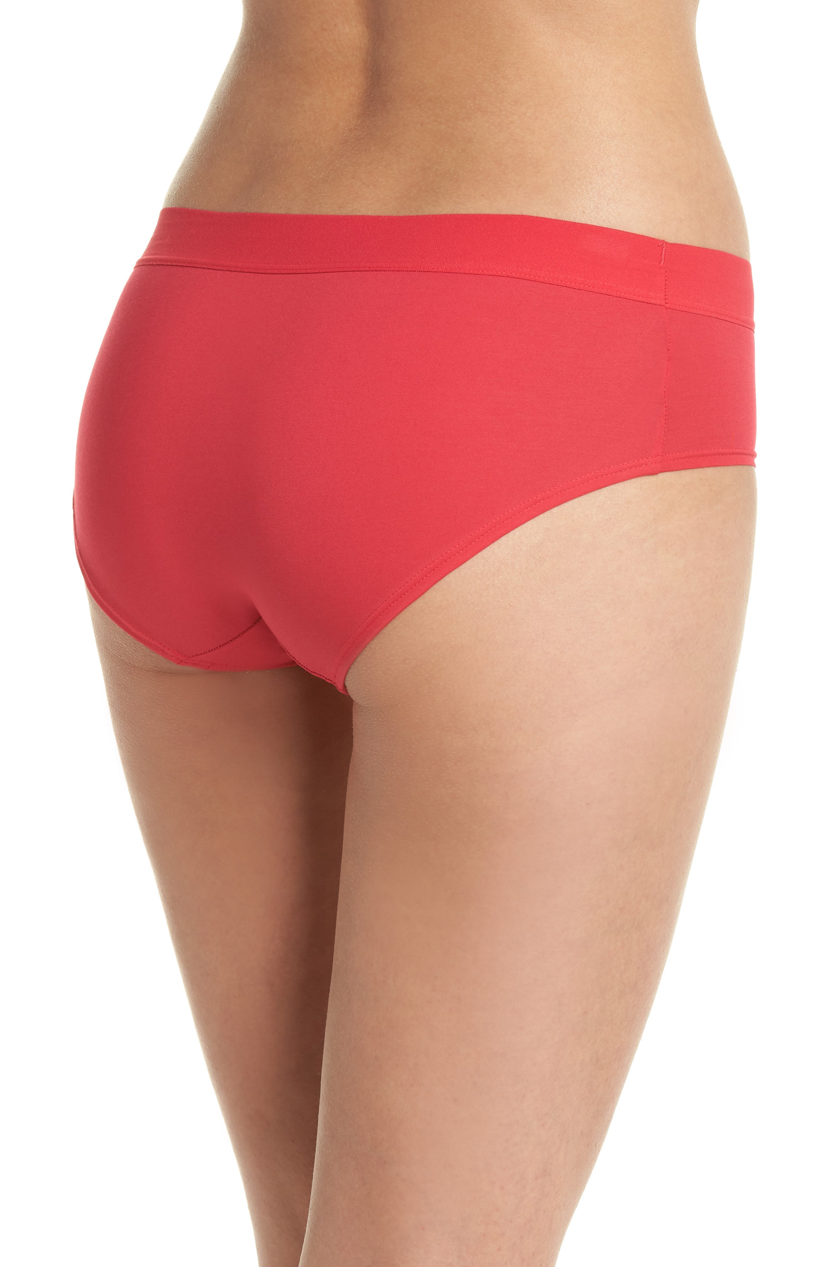 Hipster Panties,                             Alternate thumbnail 2, color,                             Cerise
