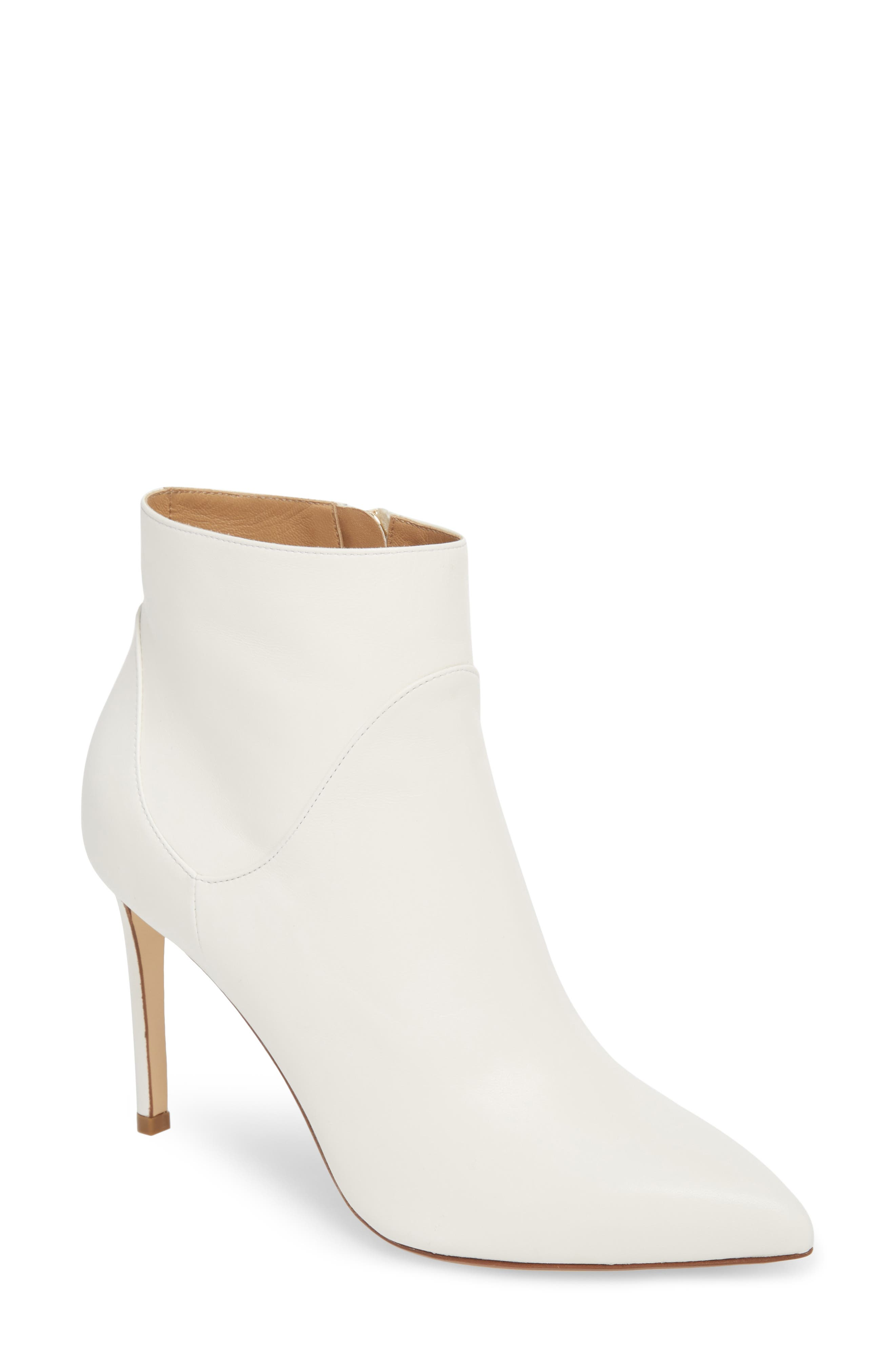 Franceso Russo Pointy Toe Bootie (Women)
