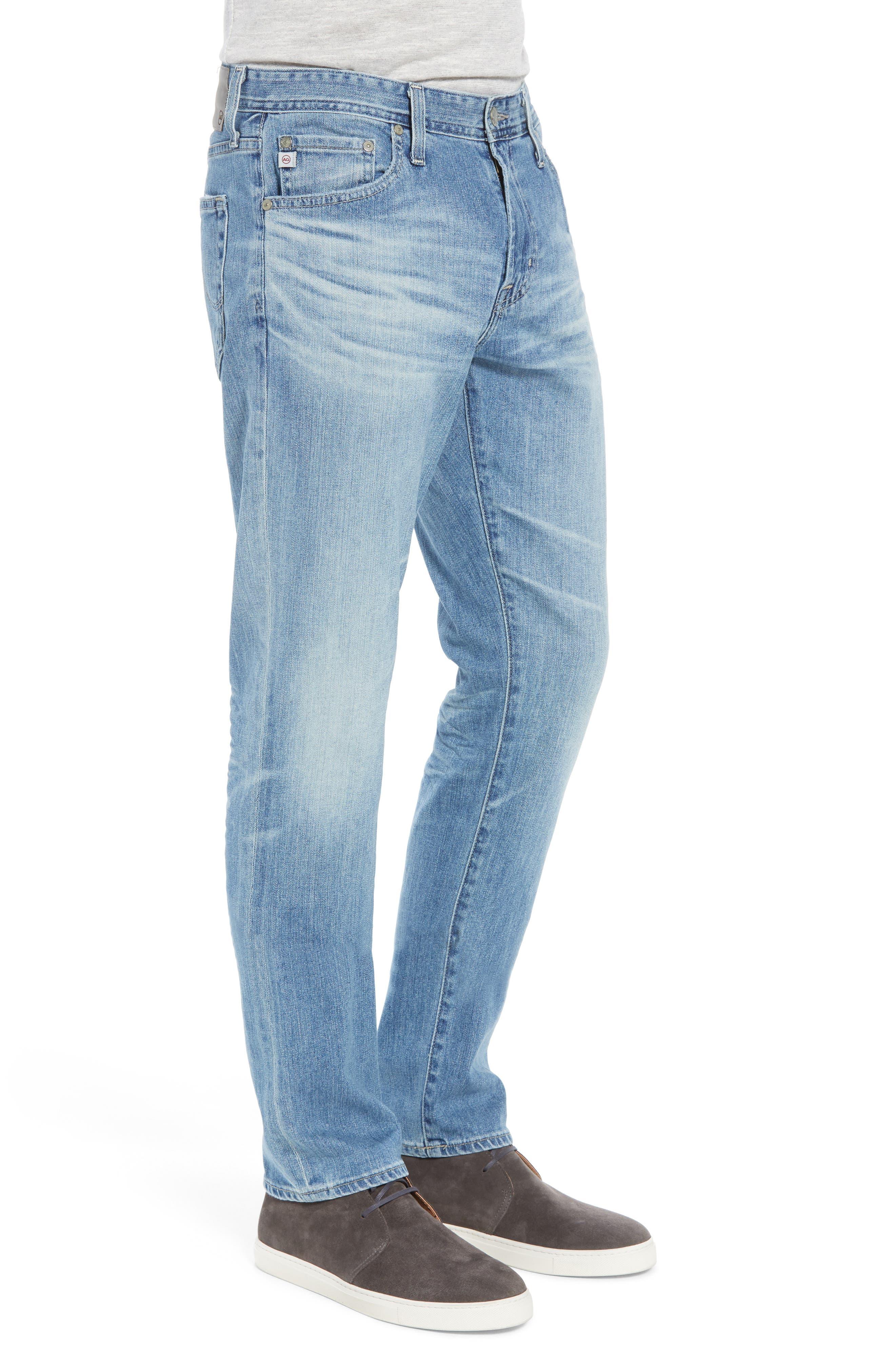 Everett Slim Straight Fit Jeans,                             Alternate thumbnail 3, color,                             18 Years Oceano