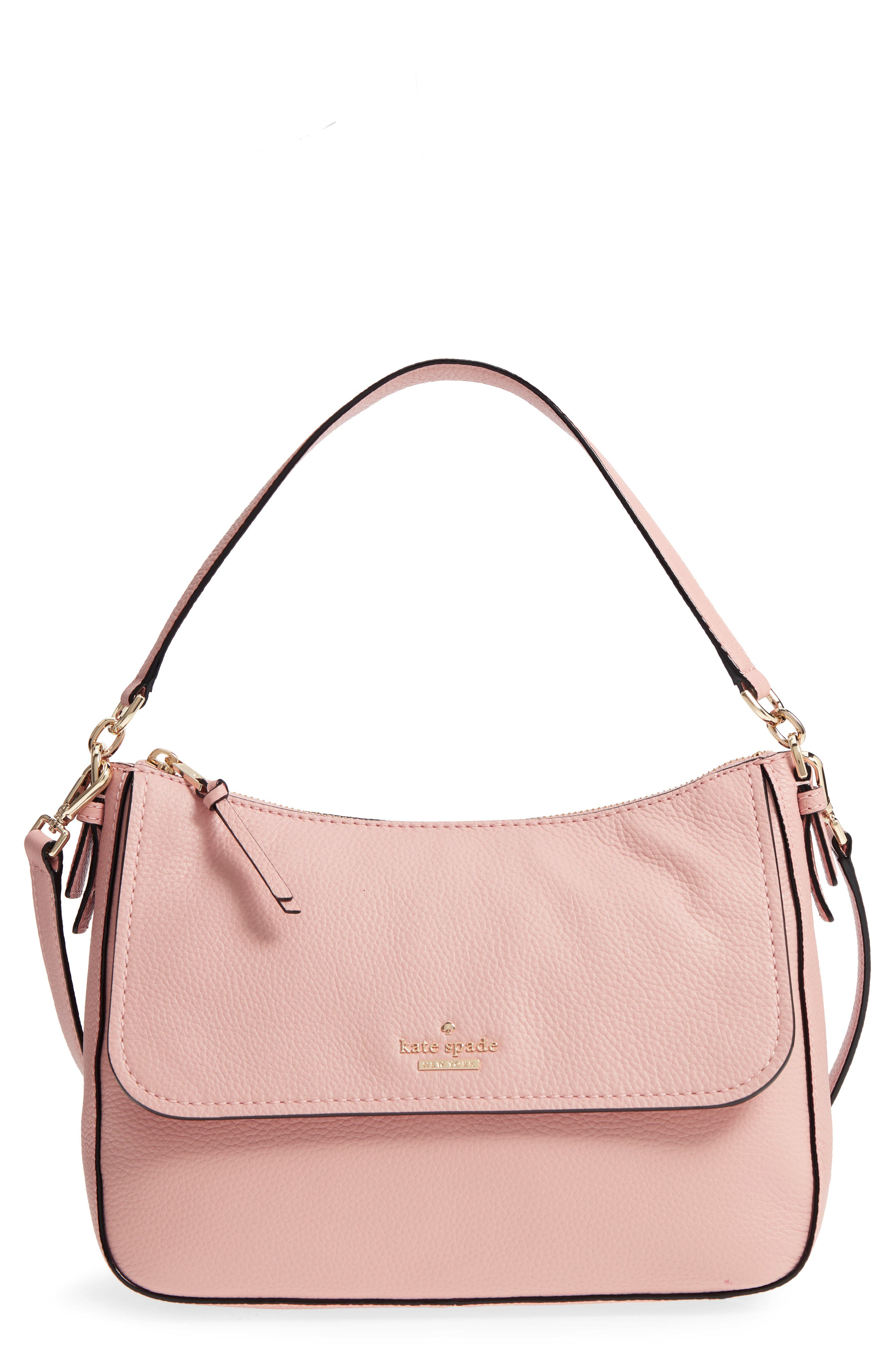 jackson street - colette leather satchel,                         Main,                         color, Rosy Cheeks
