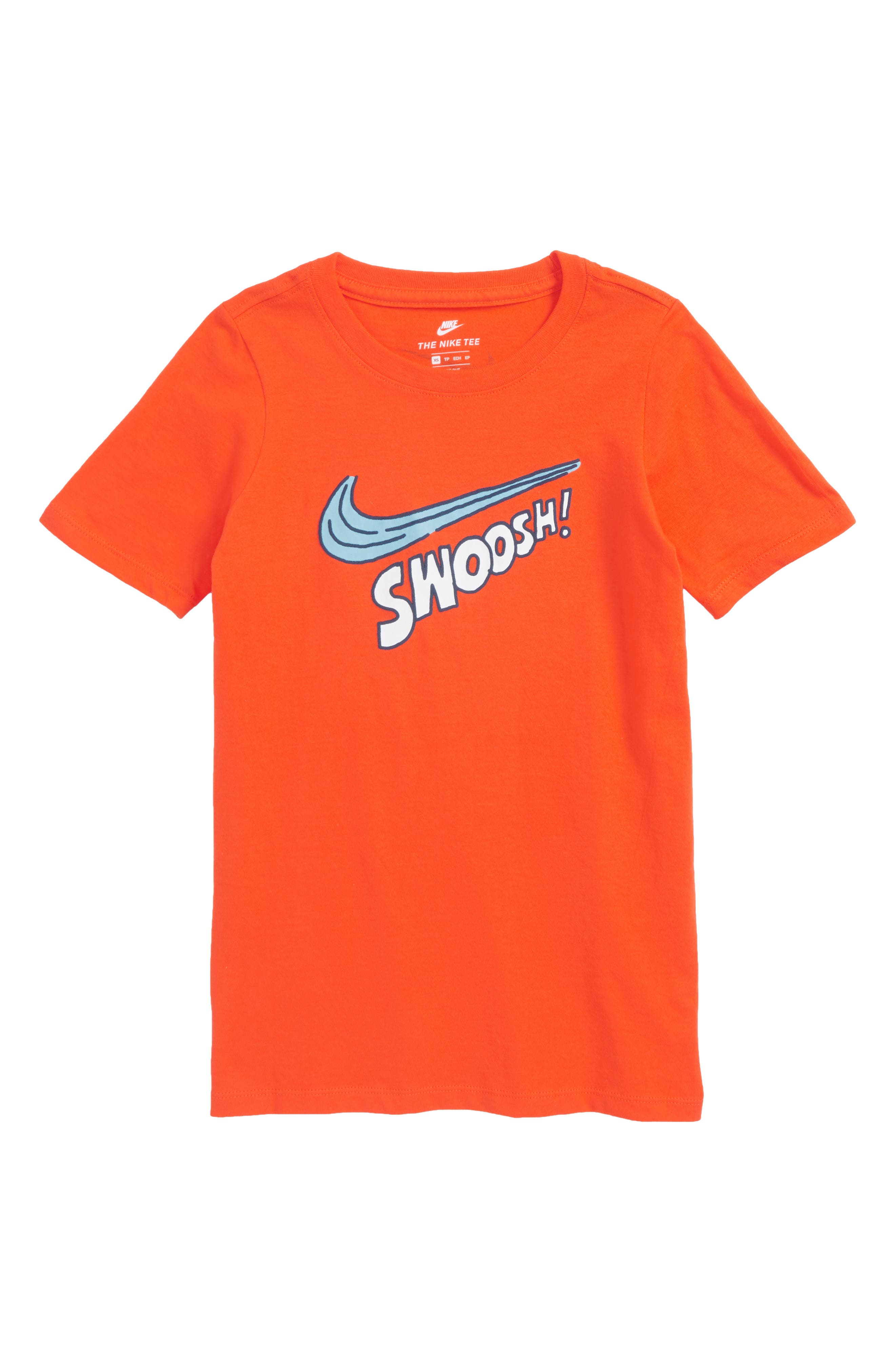 Nike Sportswear Swoosh Graphic T-Shirt (Little Boys & Big Boys)