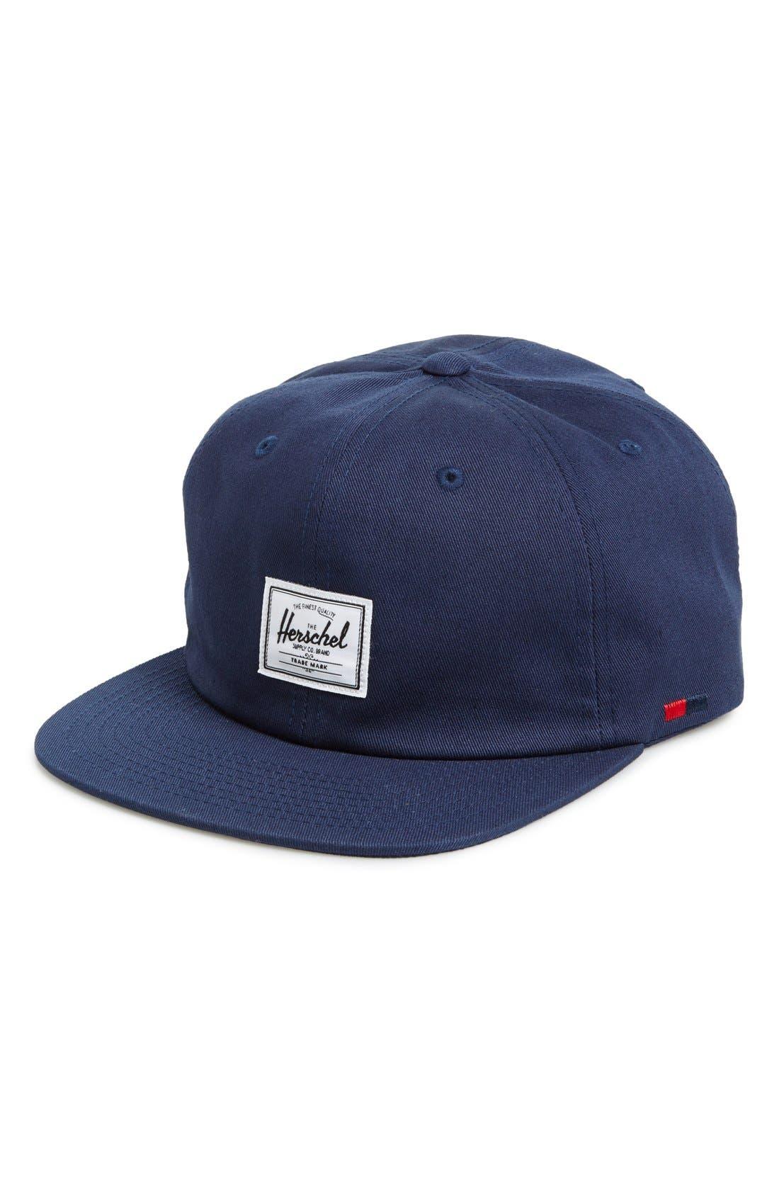 Alternate Image 1 Selected - Herschel Supply Co. 'Albert' Cotton Baseball Cap