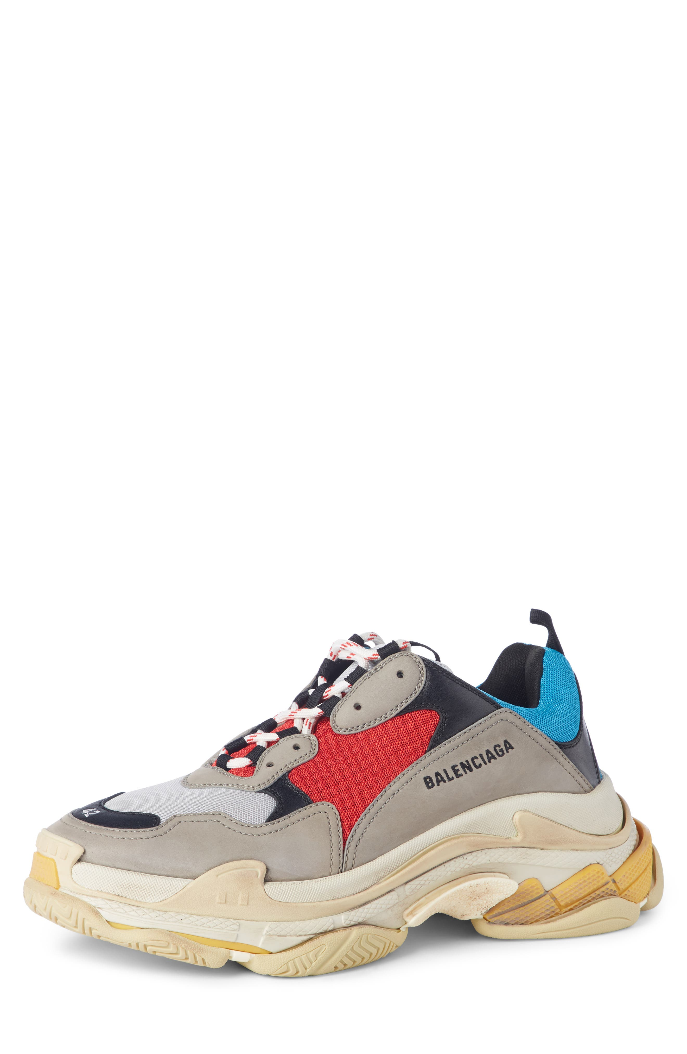 Triple S Retro Sneaker,                             Main thumbnail 1, color,                             Beige
