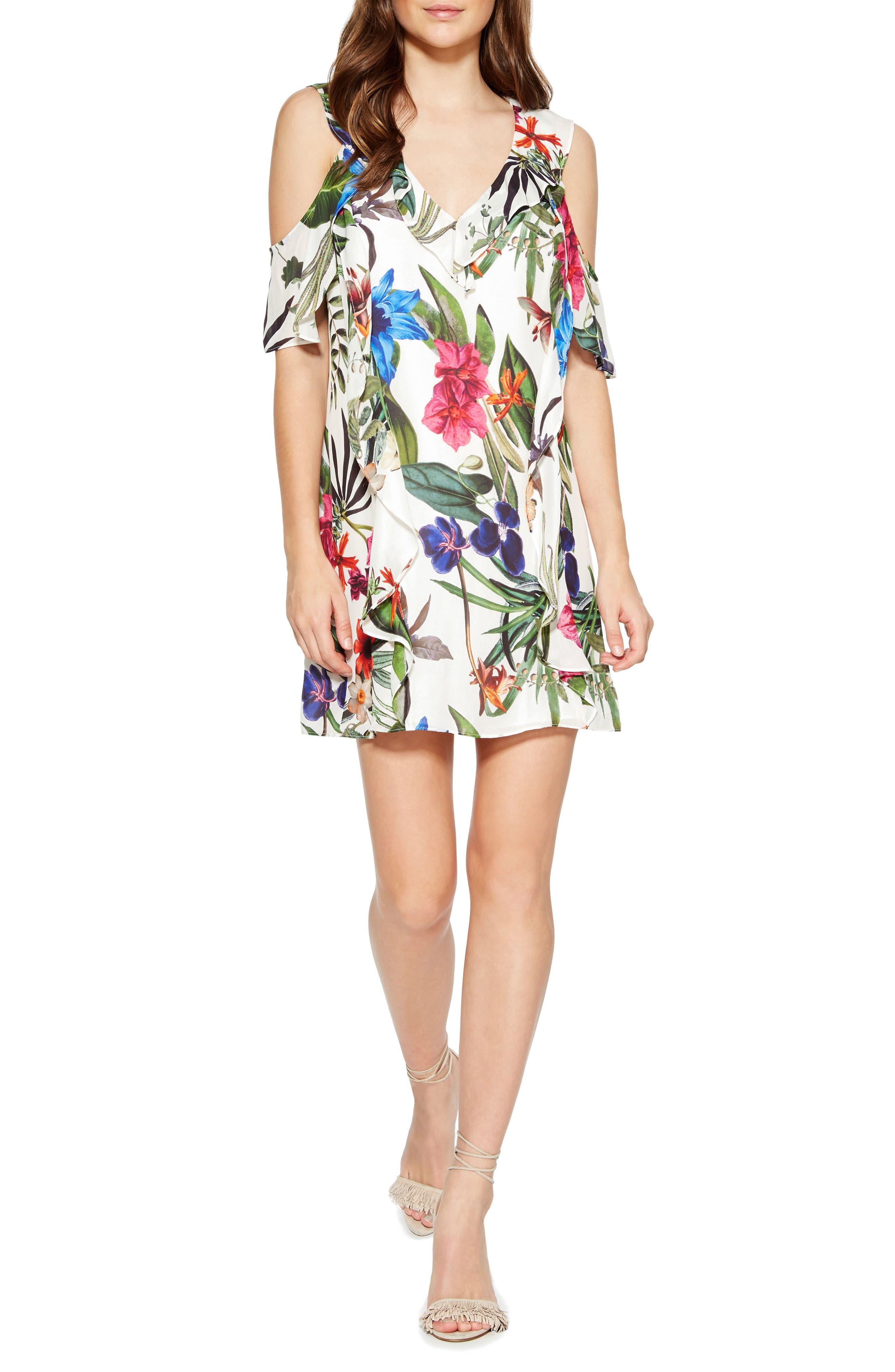 Parker Glory Silk Blend Dress