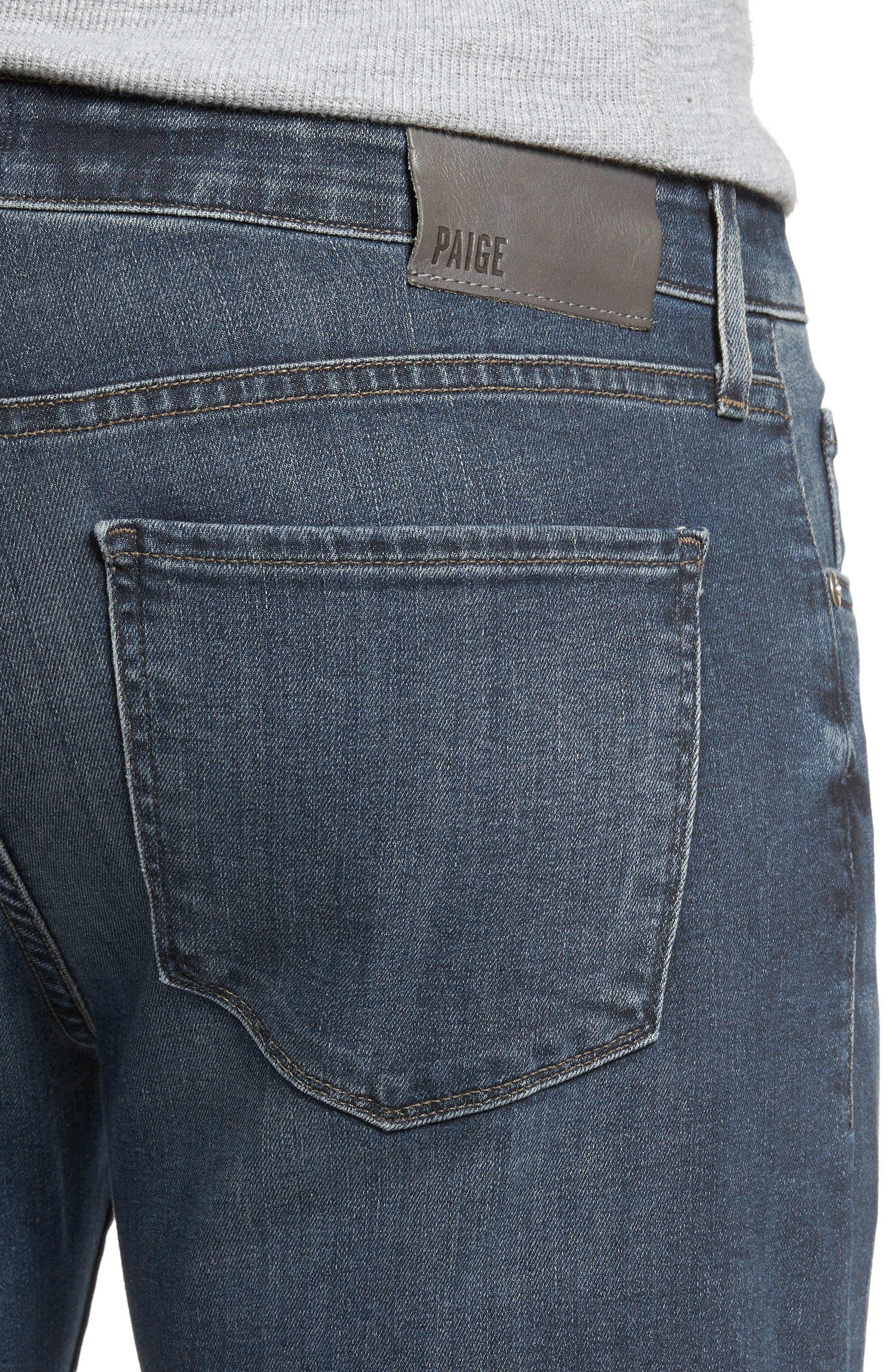 Normandie Straight Leg Jeans,                             Alternate thumbnail 4, color,                             Daniels
