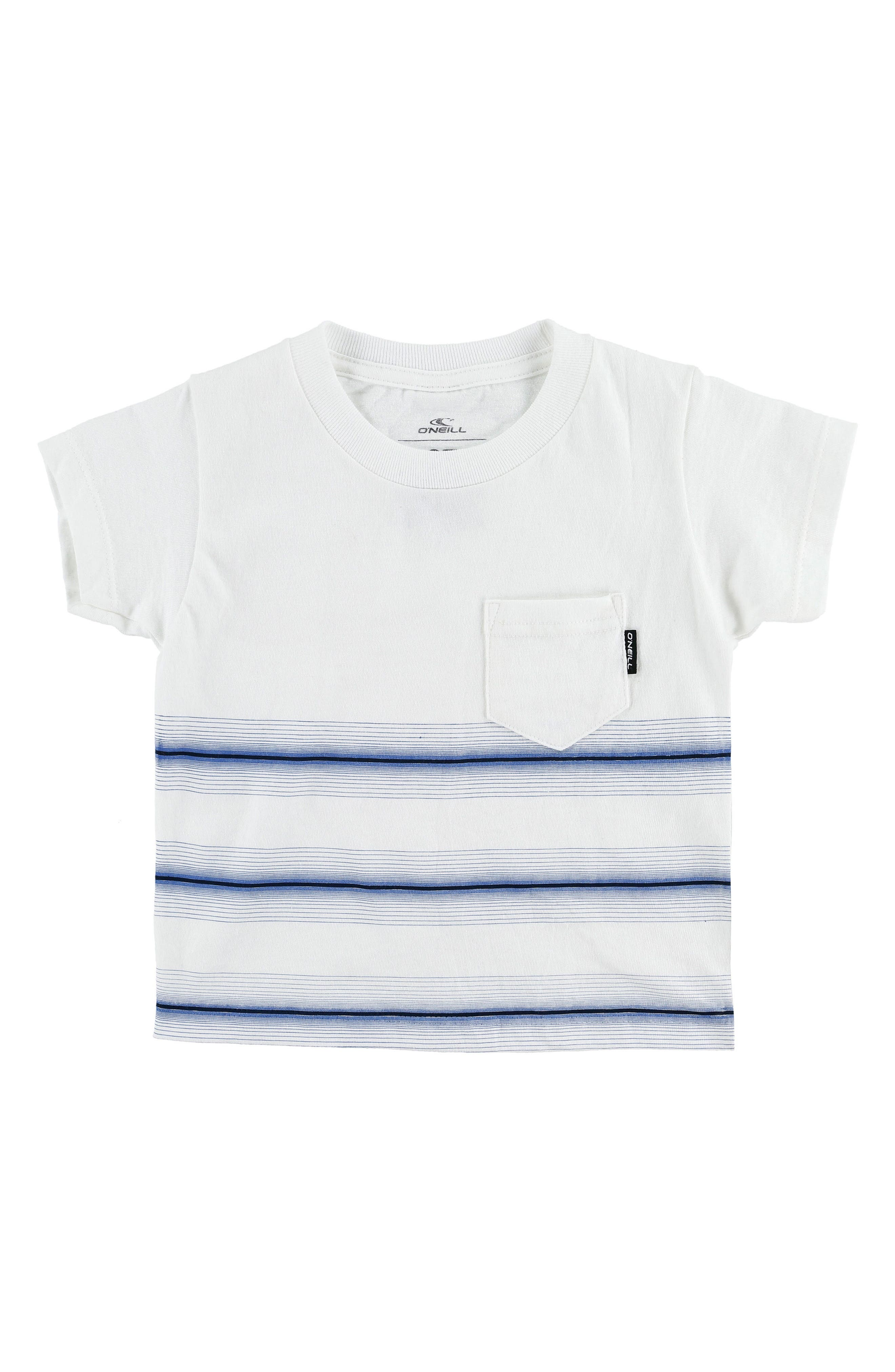 Pho Stripe T-Shirt,                             Main thumbnail 1, color,                             White