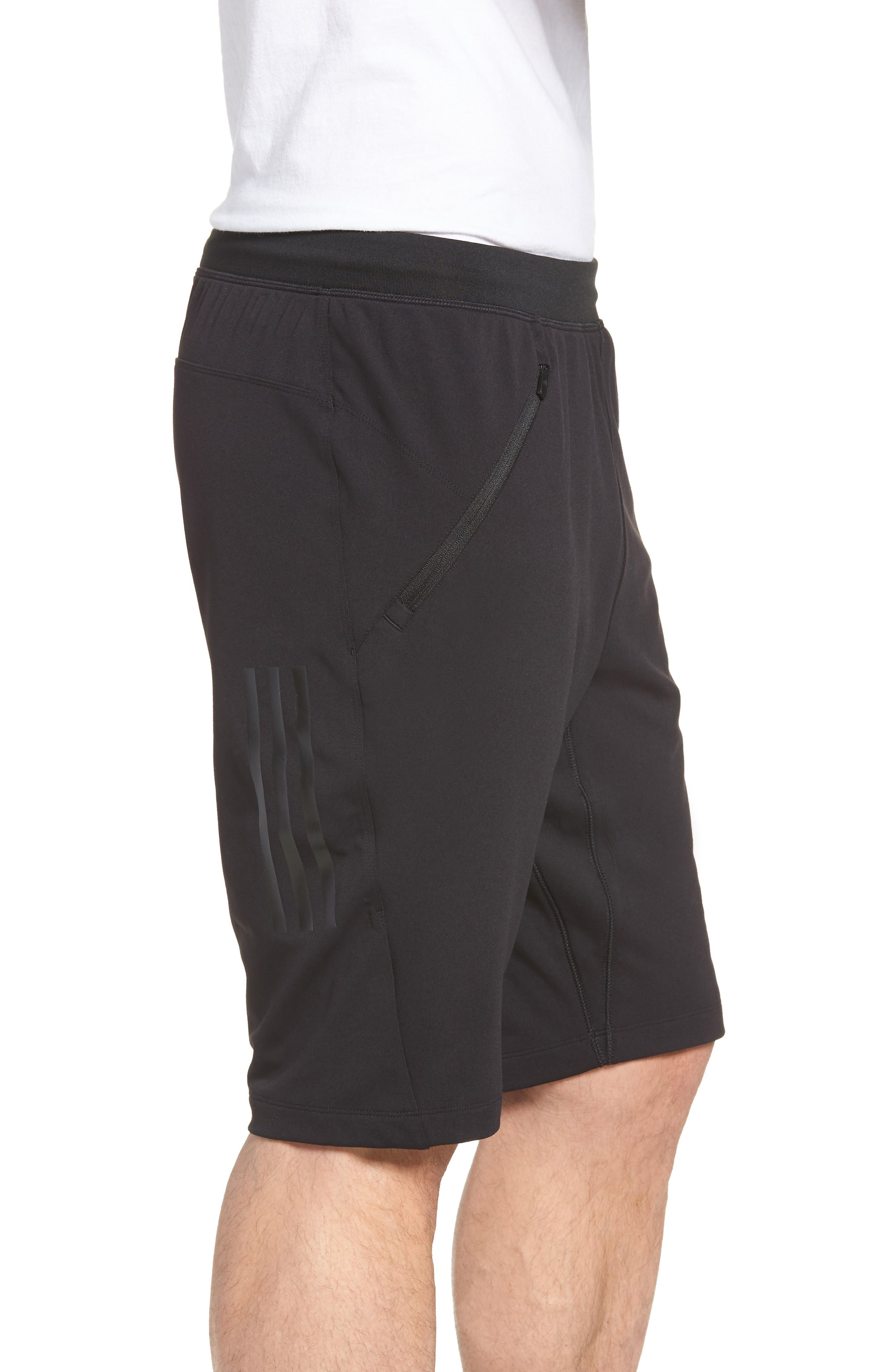Ultimate Transitional Regular Fit Shorts,                             Alternate thumbnail 3, color,                             Black