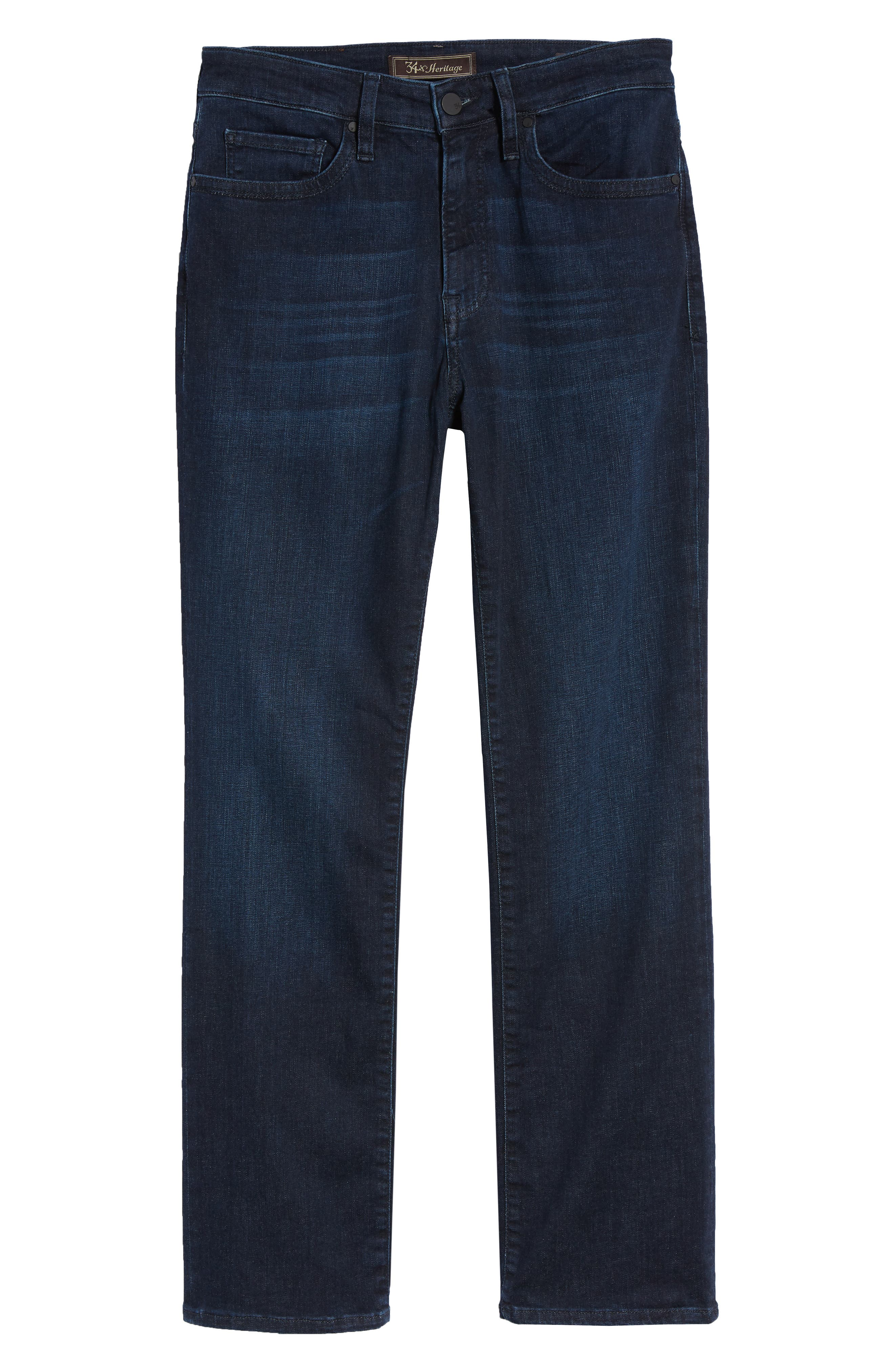 Charisma Relaxed Fit Jeans,                             Alternate thumbnail 6, color,                             Dark Milan