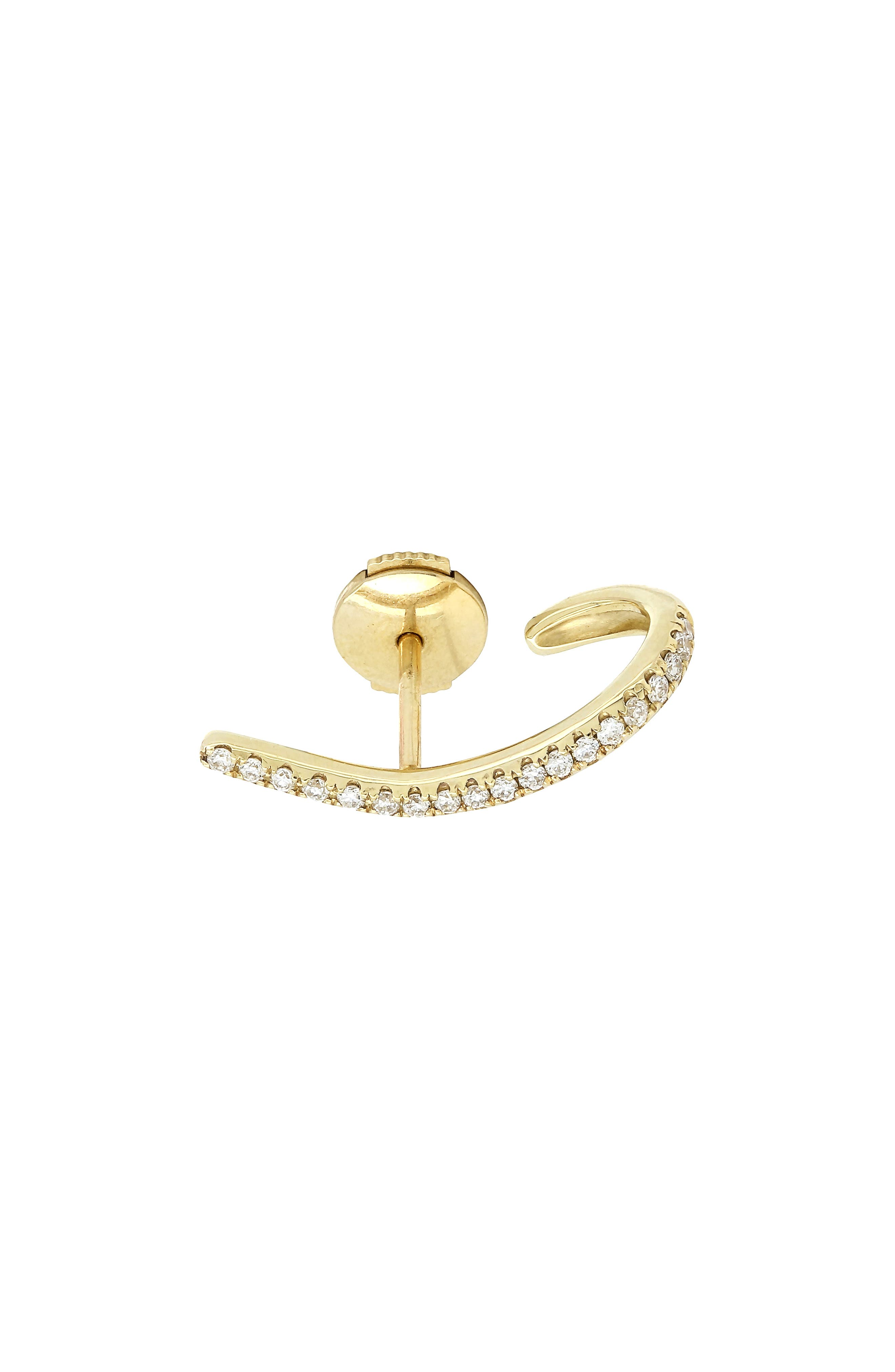 Yvonne Léon Linear Diamond Earring