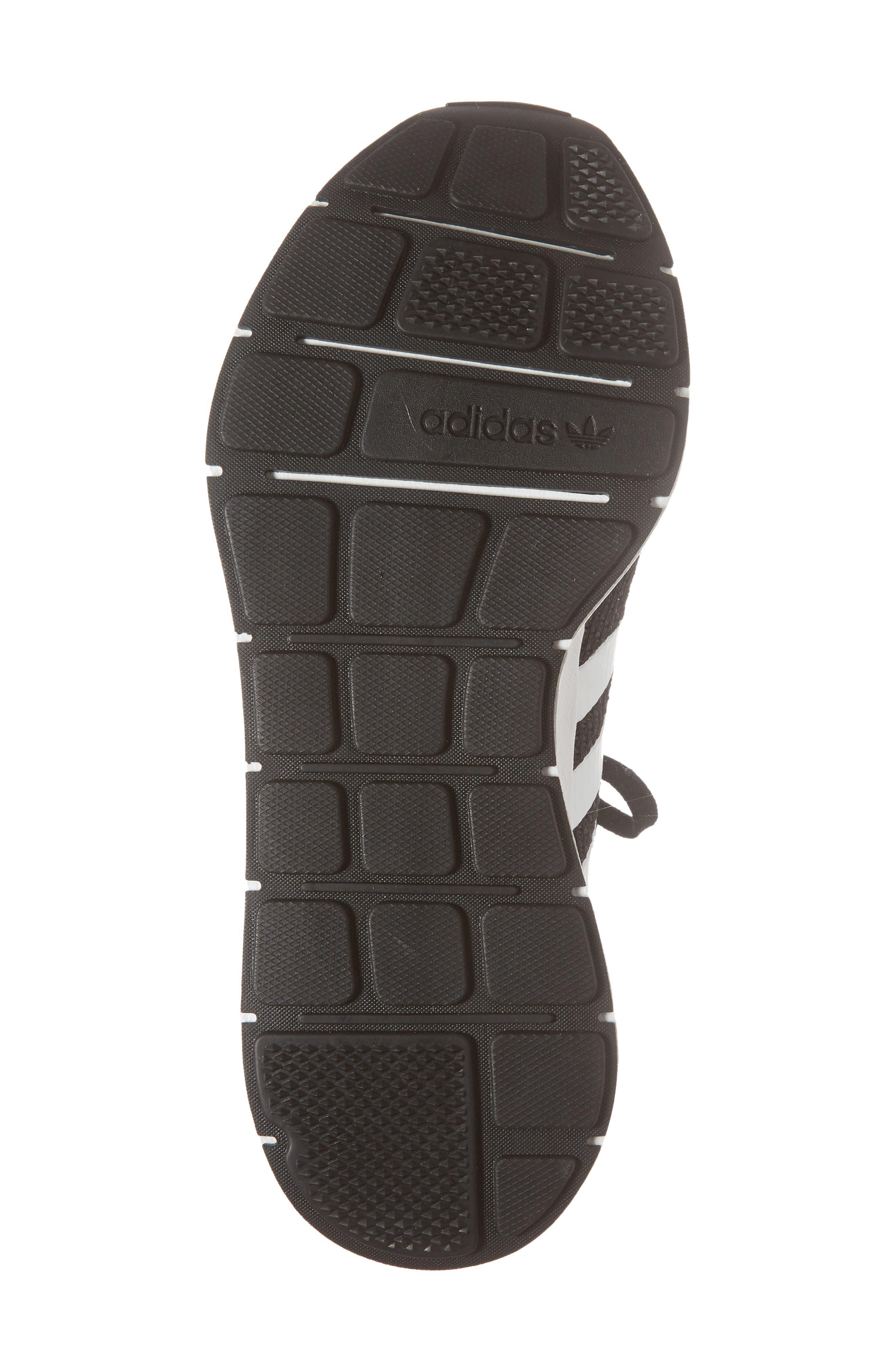 Swift Run Sneaker,                             Alternate thumbnail 6, color,                             Core Black/ White/ Core Black