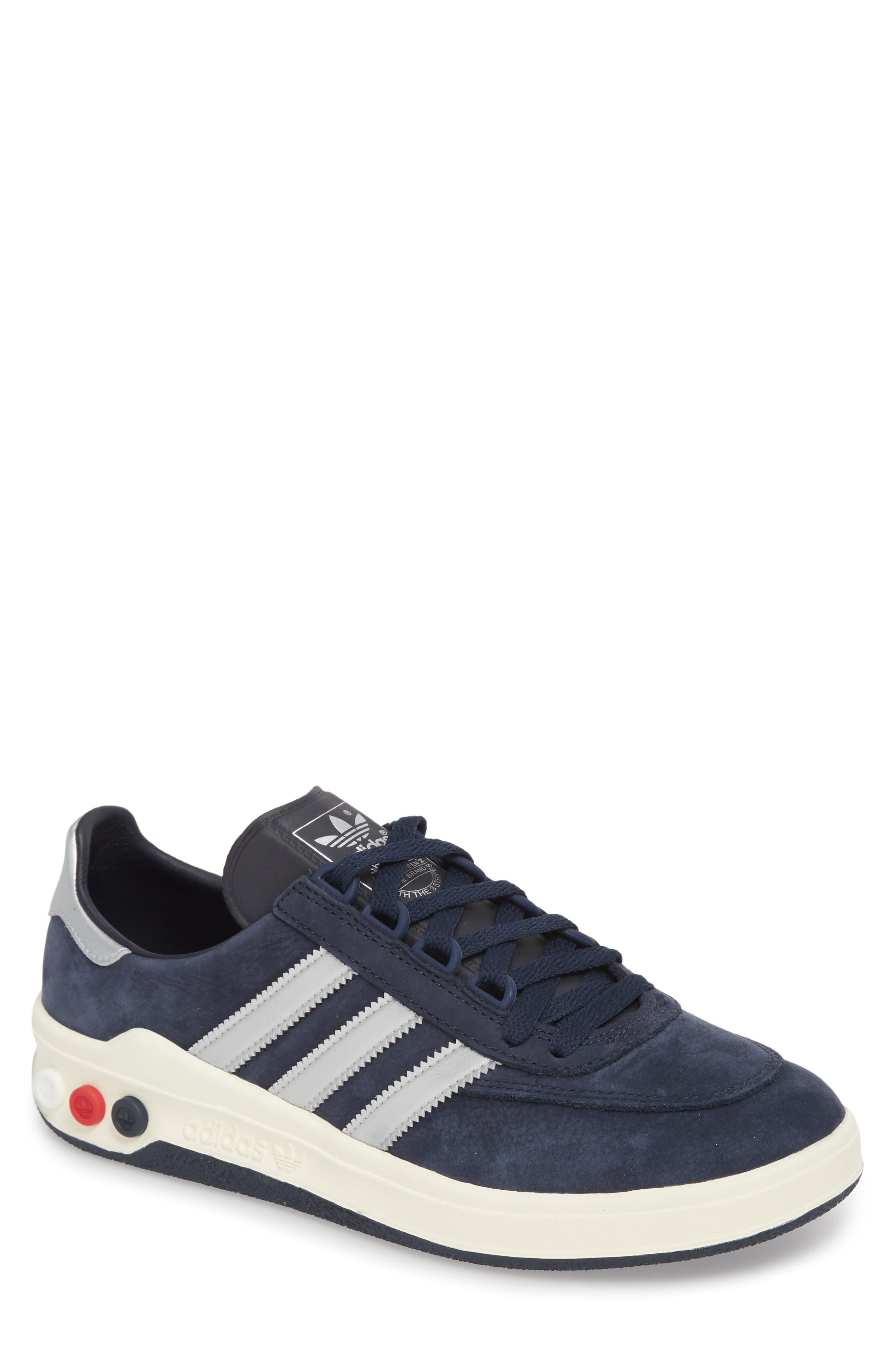 CLMBA SPZL Sneaker,                             Main thumbnail 1, color,                             Night Navy/ Silver/ White