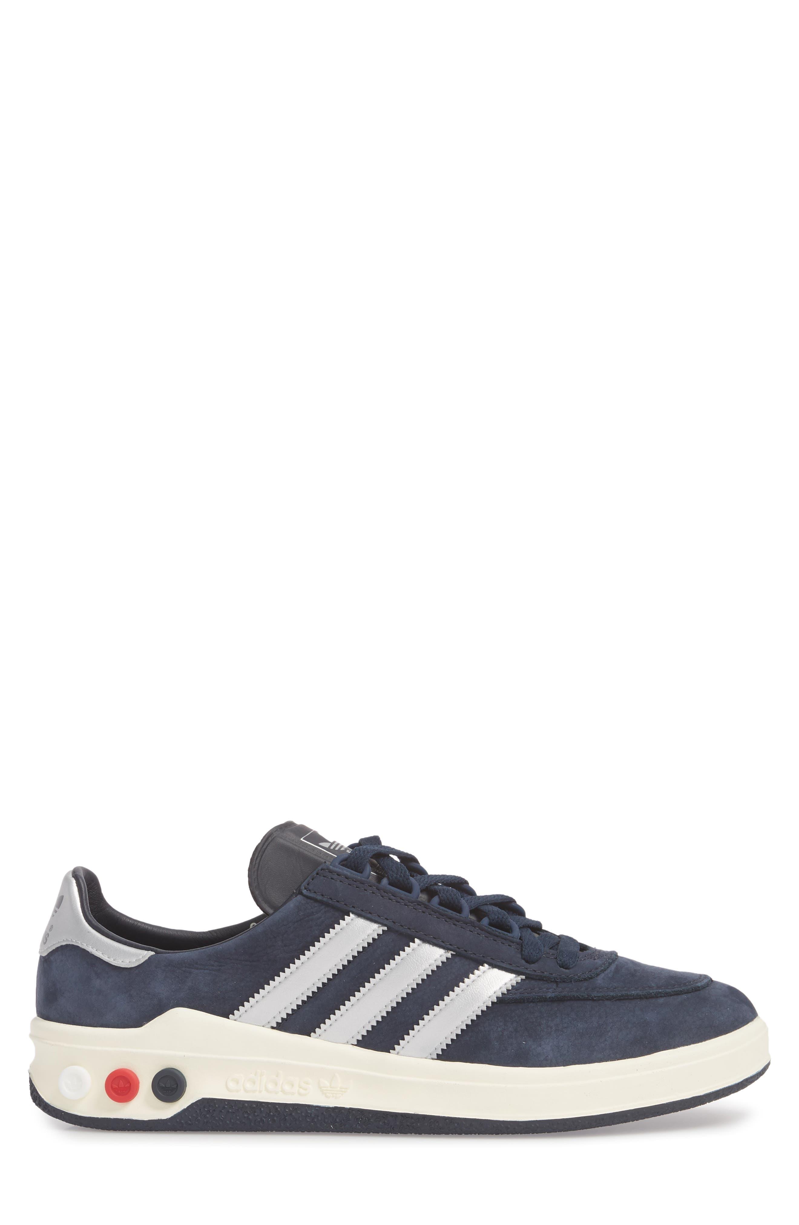 CLMBA SPZL Sneaker,                             Alternate thumbnail 3, color,                             Night Navy/ Silver/ White