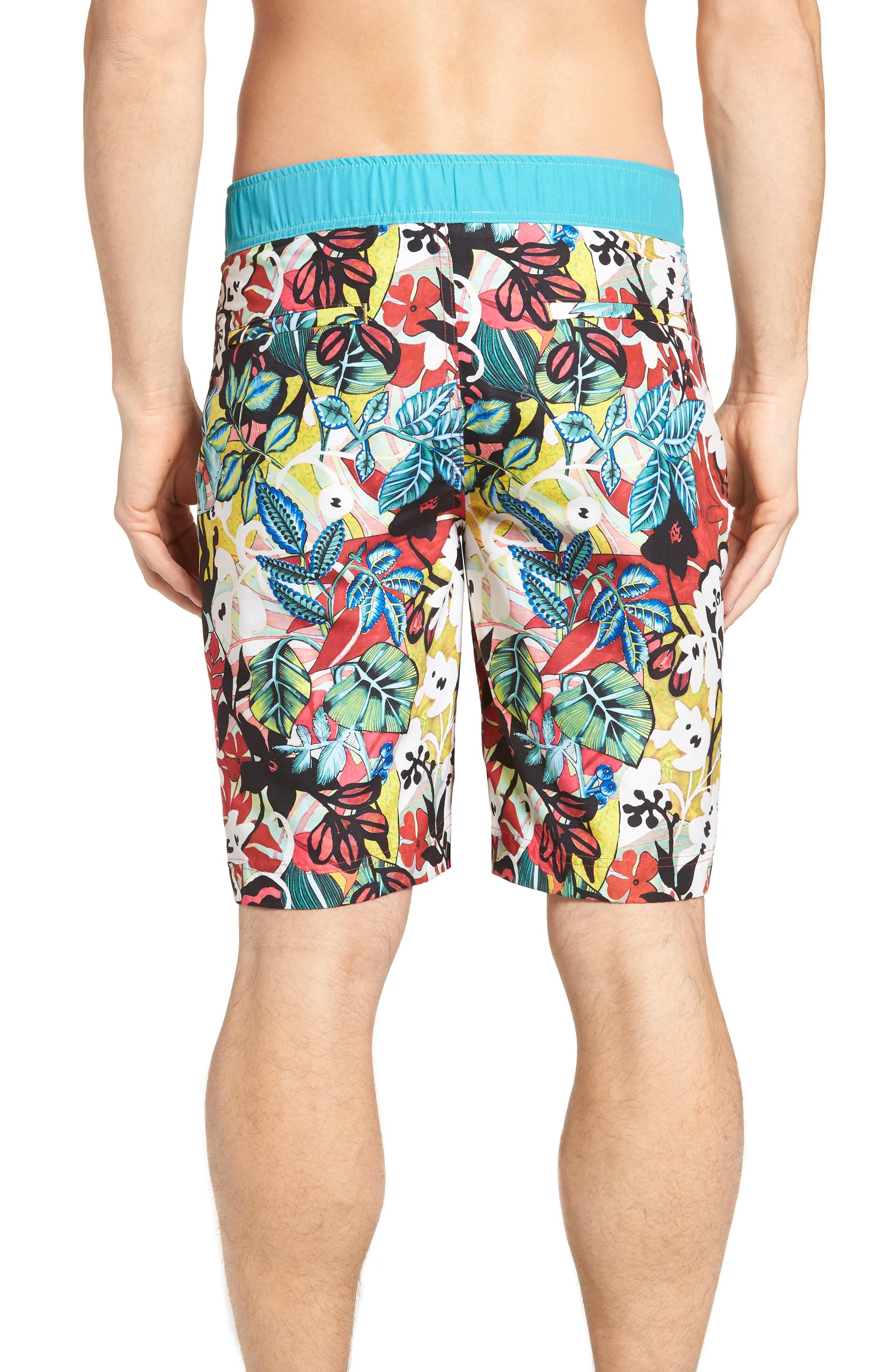 Barbarito Classic Fit Board Shorts,                             Alternate thumbnail 2, color,                             Multi