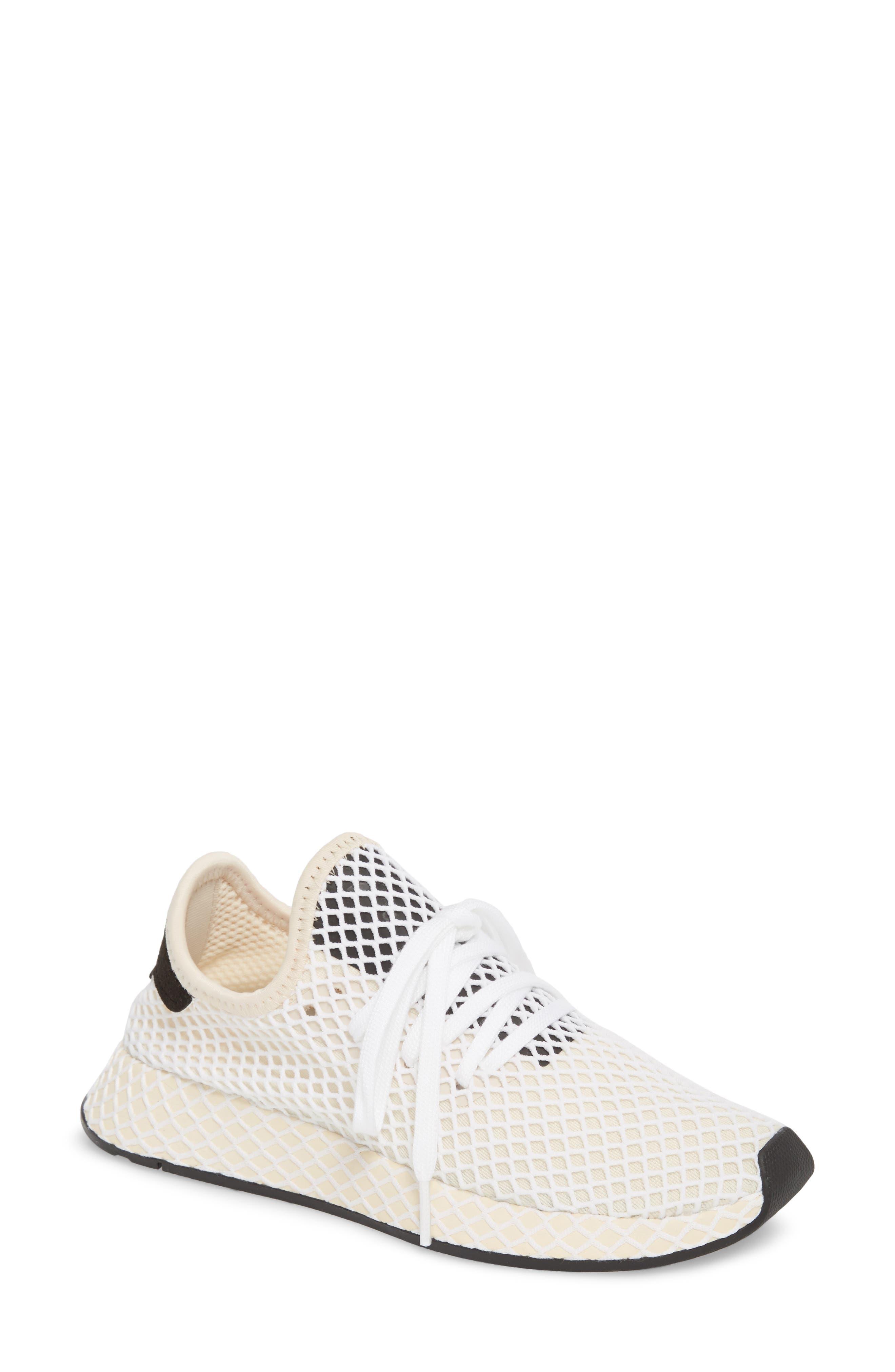 Deerupt Runner Sneaker,                             Main thumbnail 1, color,                             Linen/ Linen/ Ecru Tint