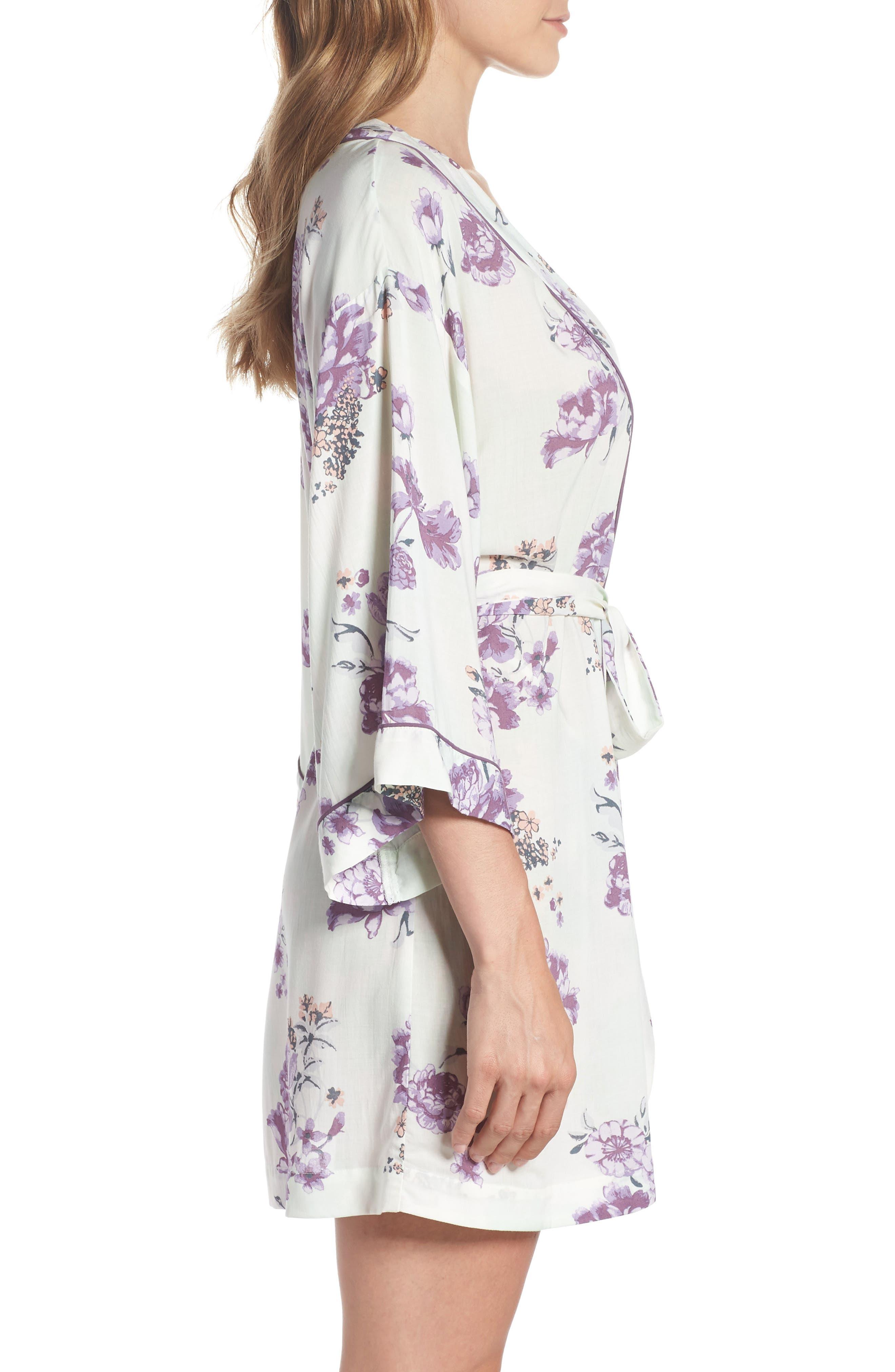 Alternate Image 3  - Nordstrom Lingerie Sweet Dreams Short Robe