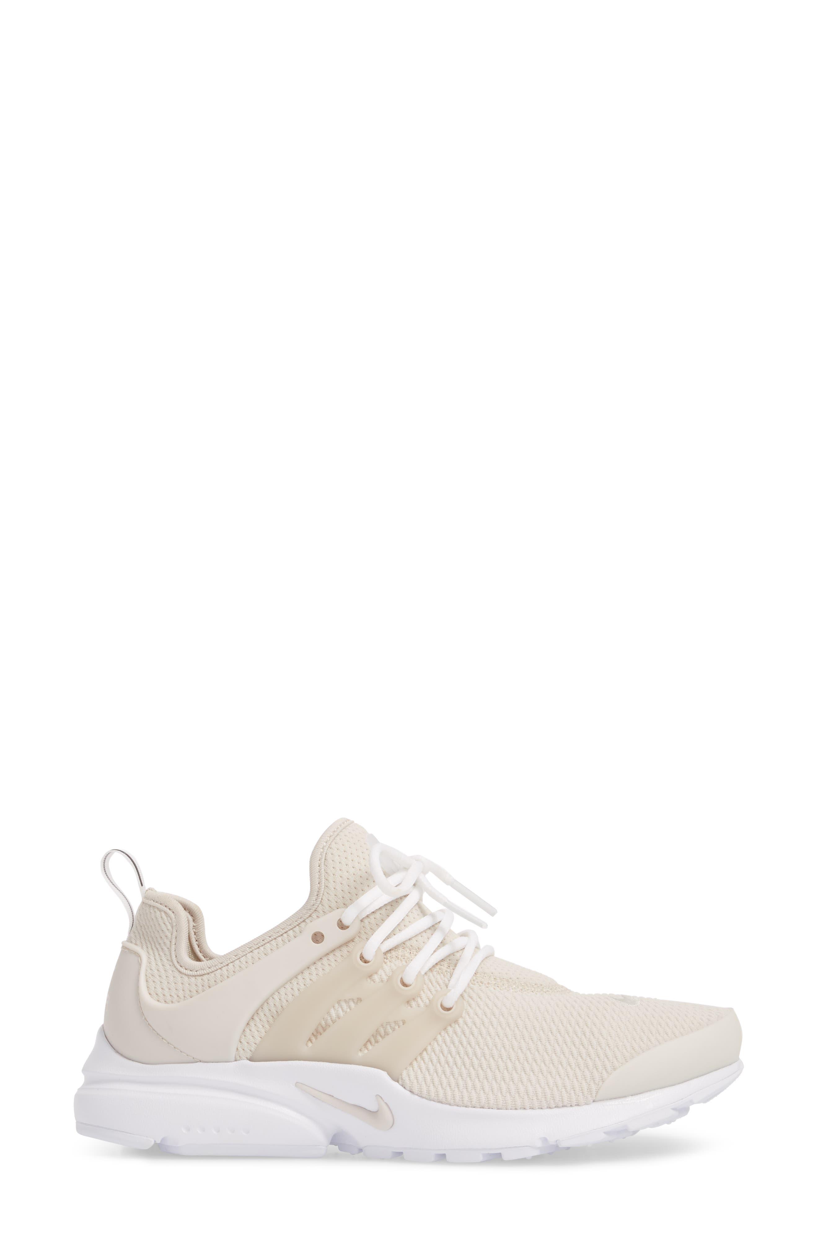 Air Presto Sneaker,                             Alternate thumbnail 3, color,                             Desert Sand/ Desert Sand